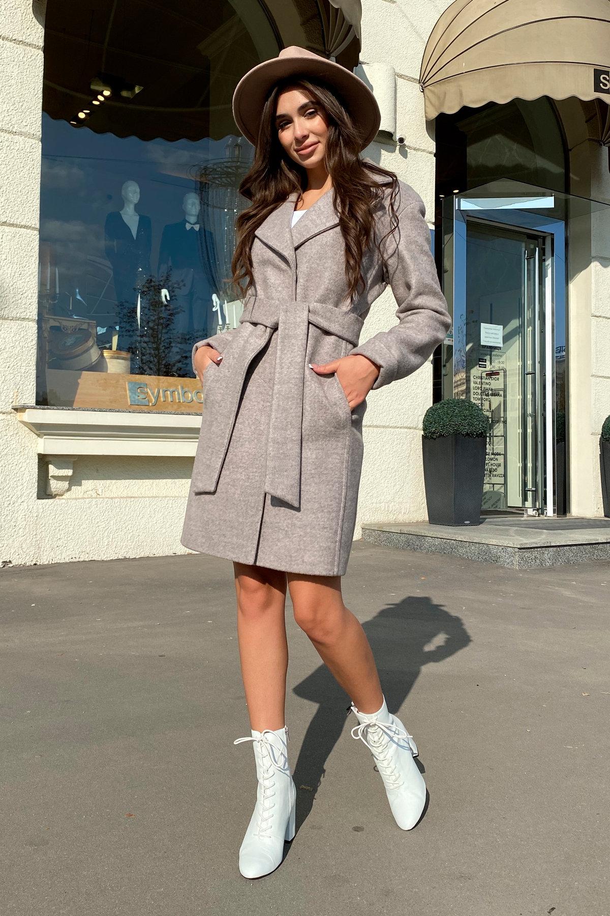 Пальто Месси 6259 АРТ. 41054 Цвет: Бежевый 31 - фото 3, интернет магазин tm-modus.ru