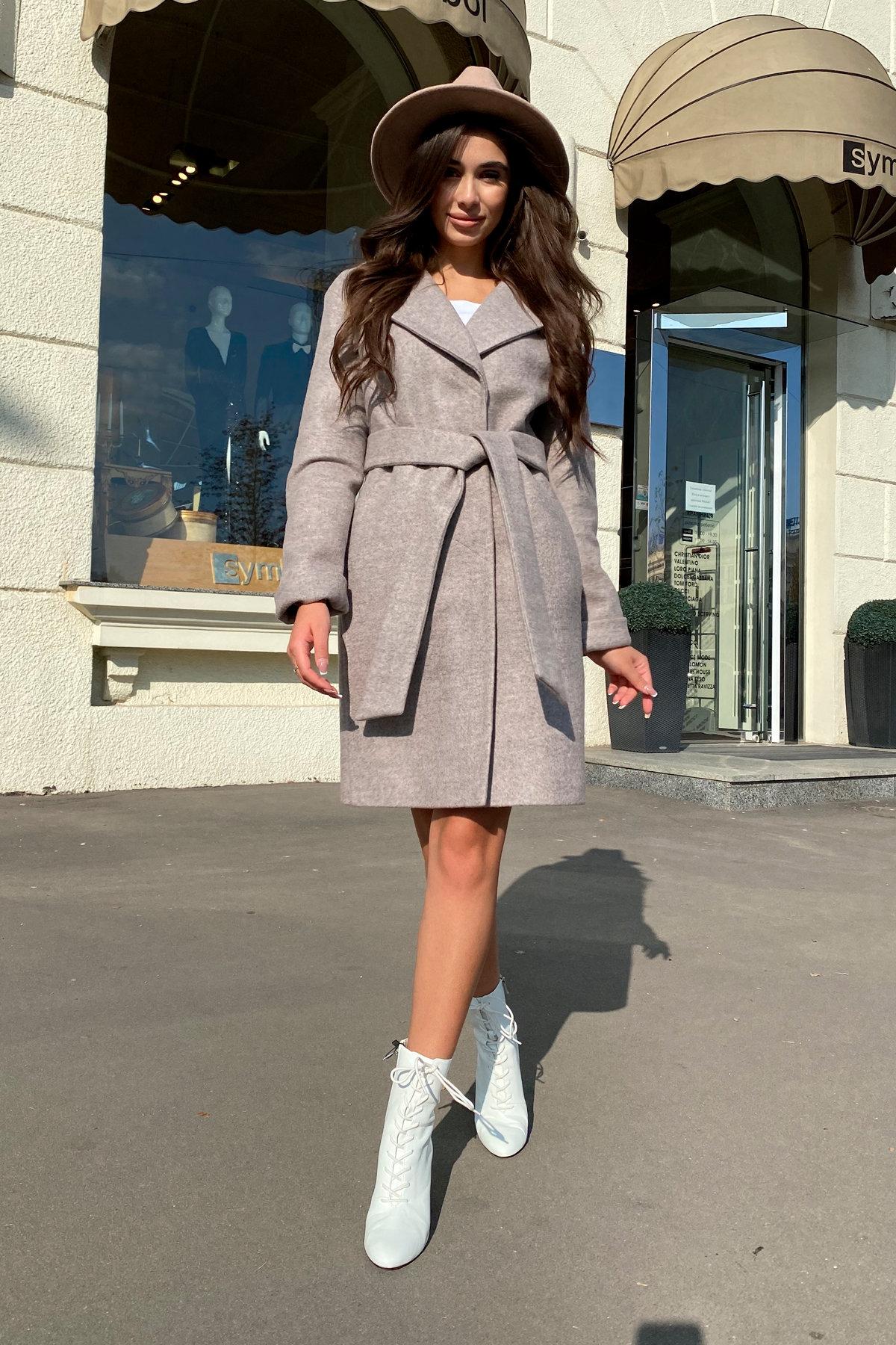 Пальто Месси 6259 АРТ. 41054 Цвет: Бежевый 31 - фото 4, интернет магазин tm-modus.ru