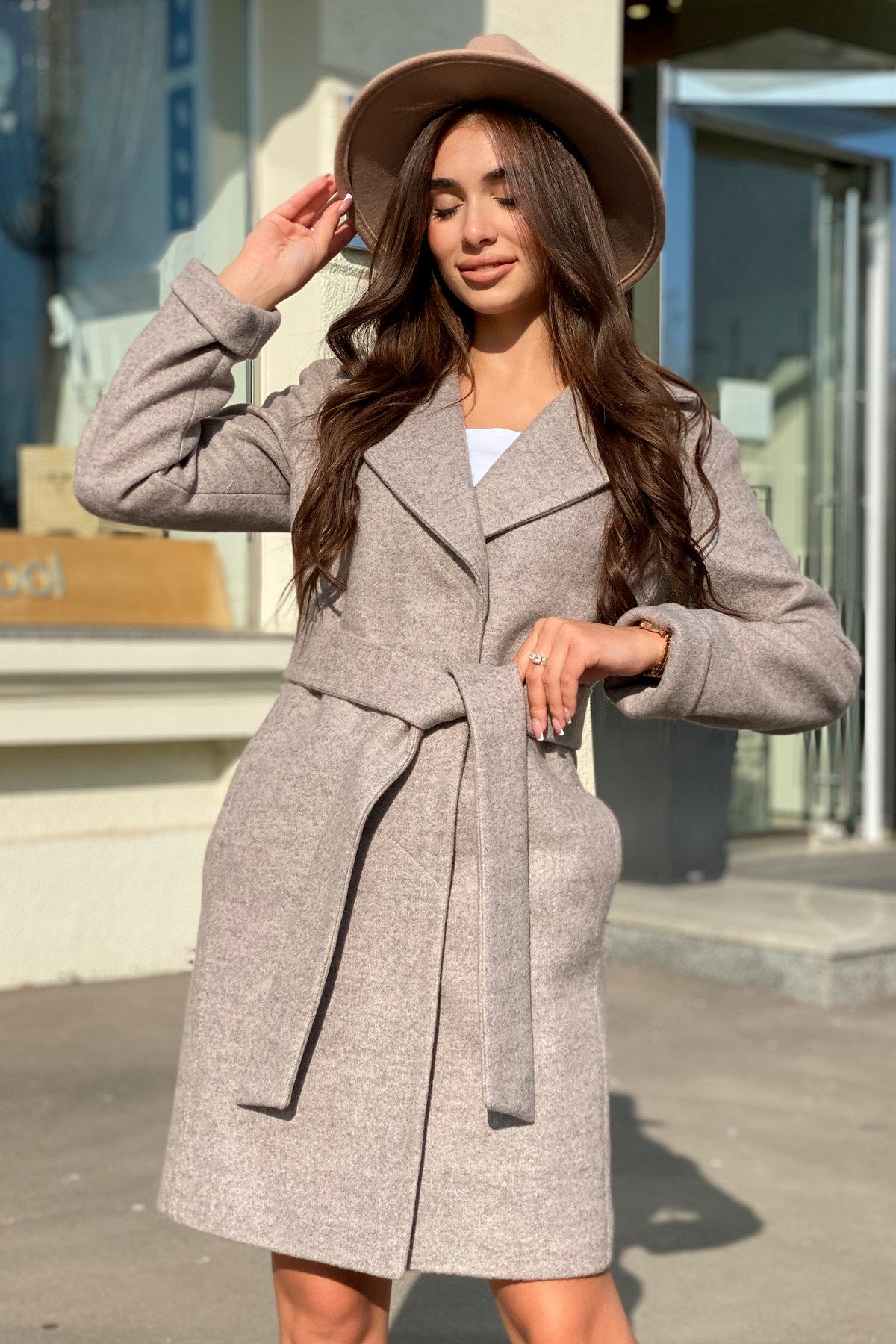 Пальто Месси 6259 АРТ. 41054 Цвет: Бежевый 31 - фото 5, интернет магазин tm-modus.ru