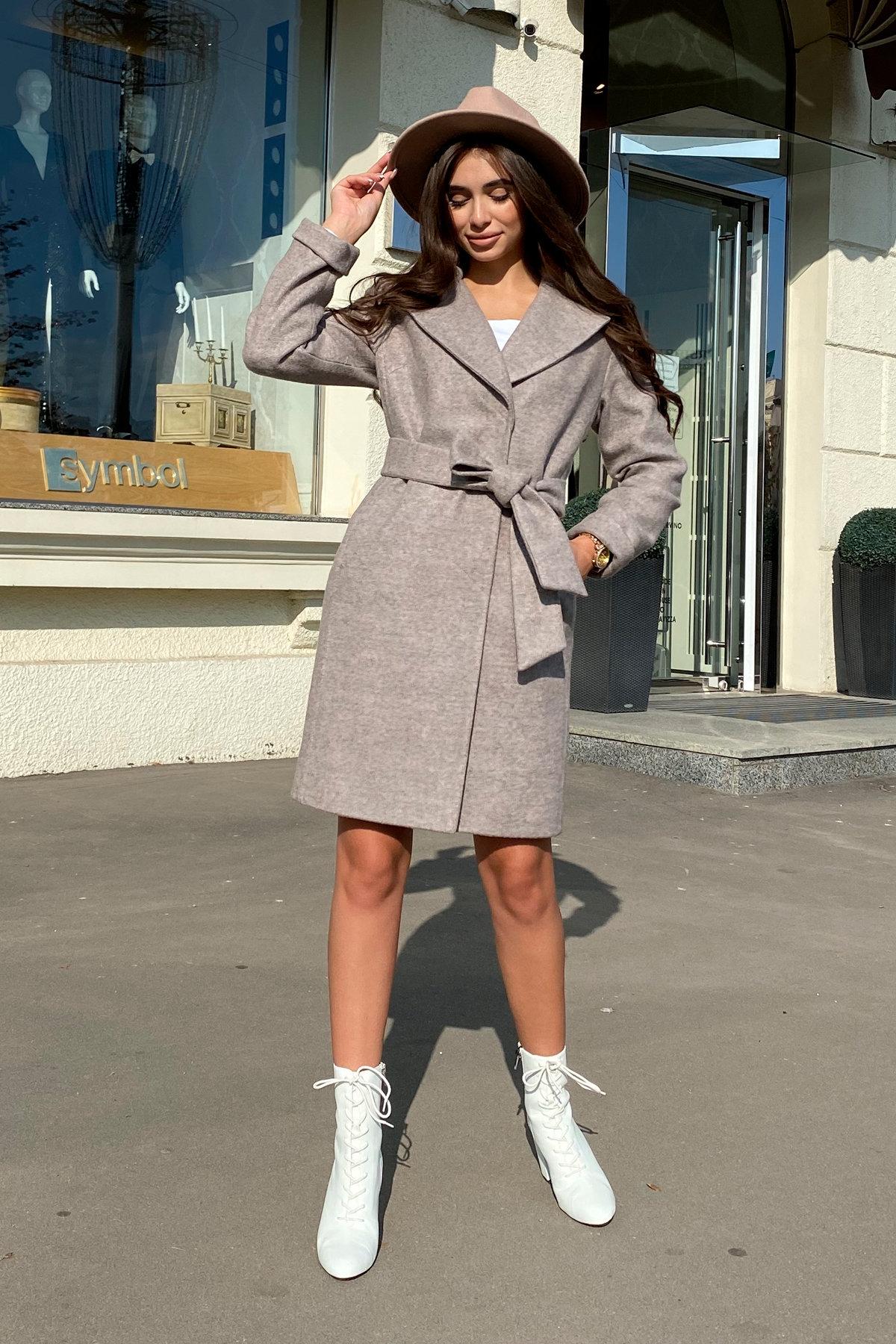 Пальто Месси 6259 АРТ. 41054 Цвет: Бежевый 31 - фото 6, интернет магазин tm-modus.ru