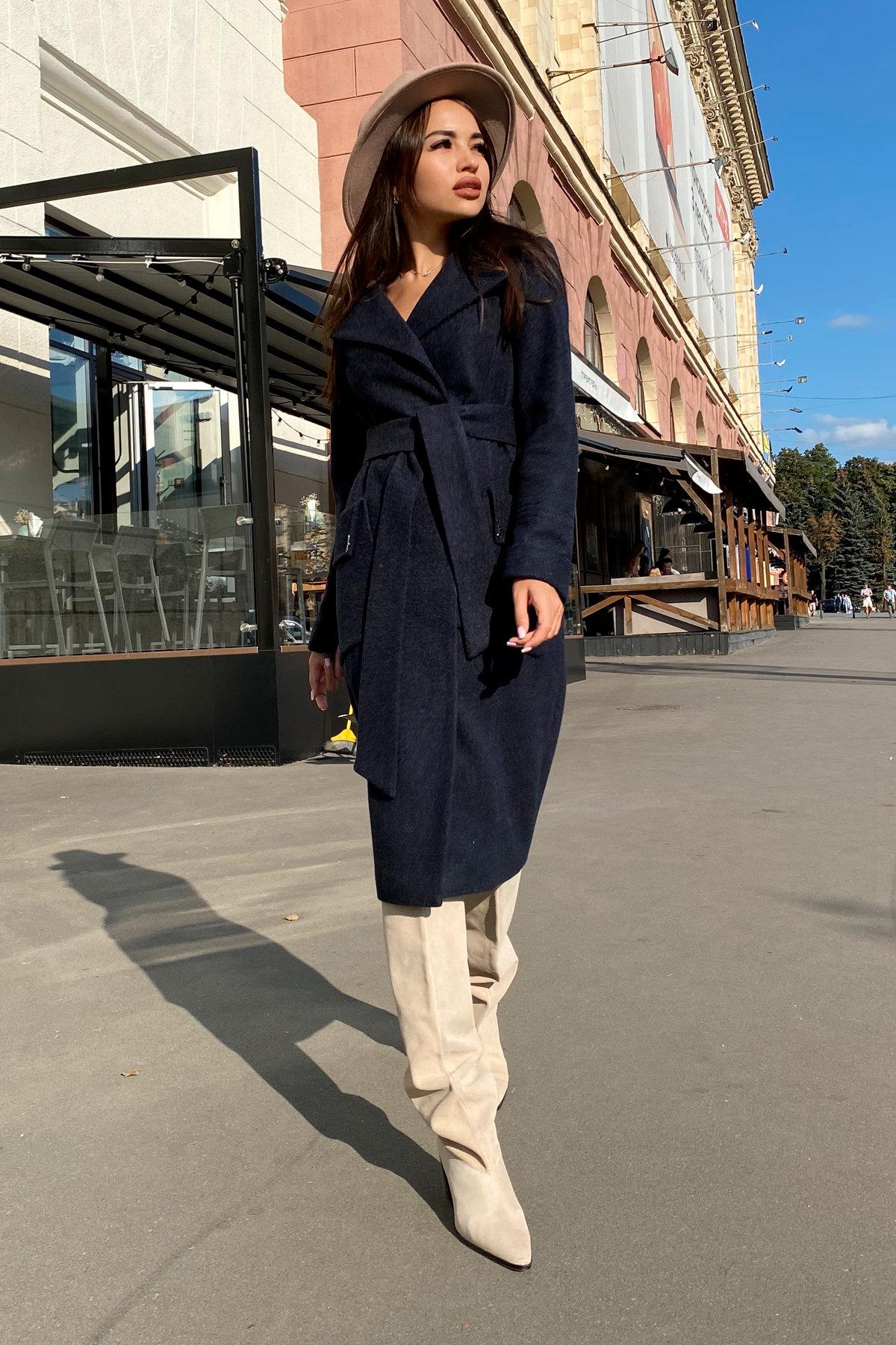 Пальто Стейси 5471 АРТ. 36685 Цвет: Темно-синий - фото 5, интернет магазин tm-modus.ru