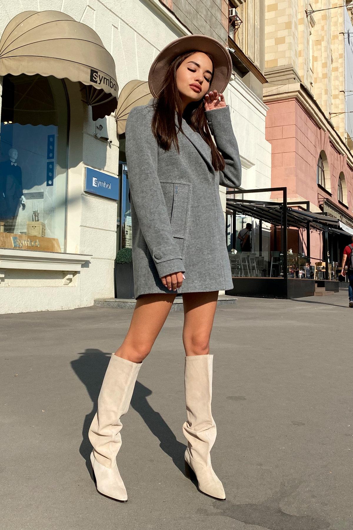 Пальто Смарта 6395 АРТ. 41427 Цвет: Серый 18 - фото 3, интернет магазин tm-modus.ru