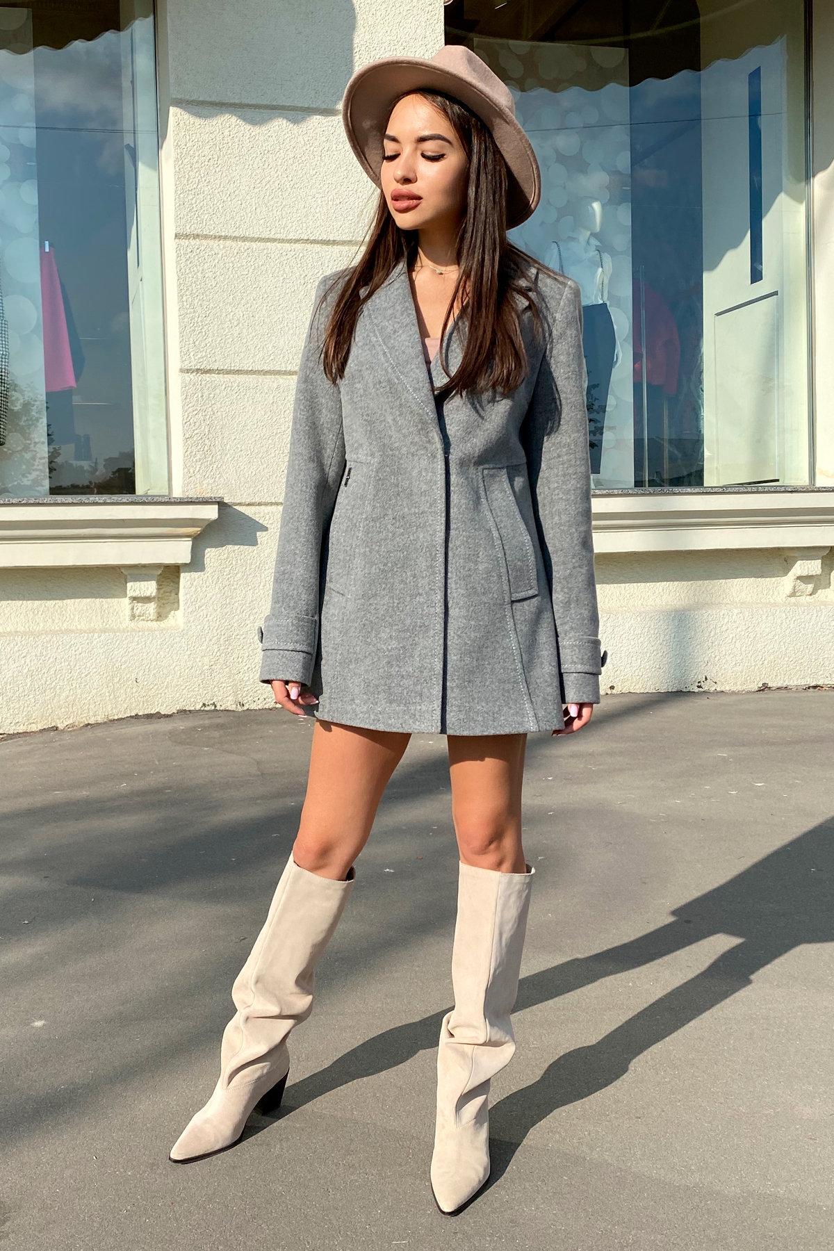 Пальто Смарта 6395 АРТ. 41427 Цвет: Серый 18 - фото 6, интернет магазин tm-modus.ru