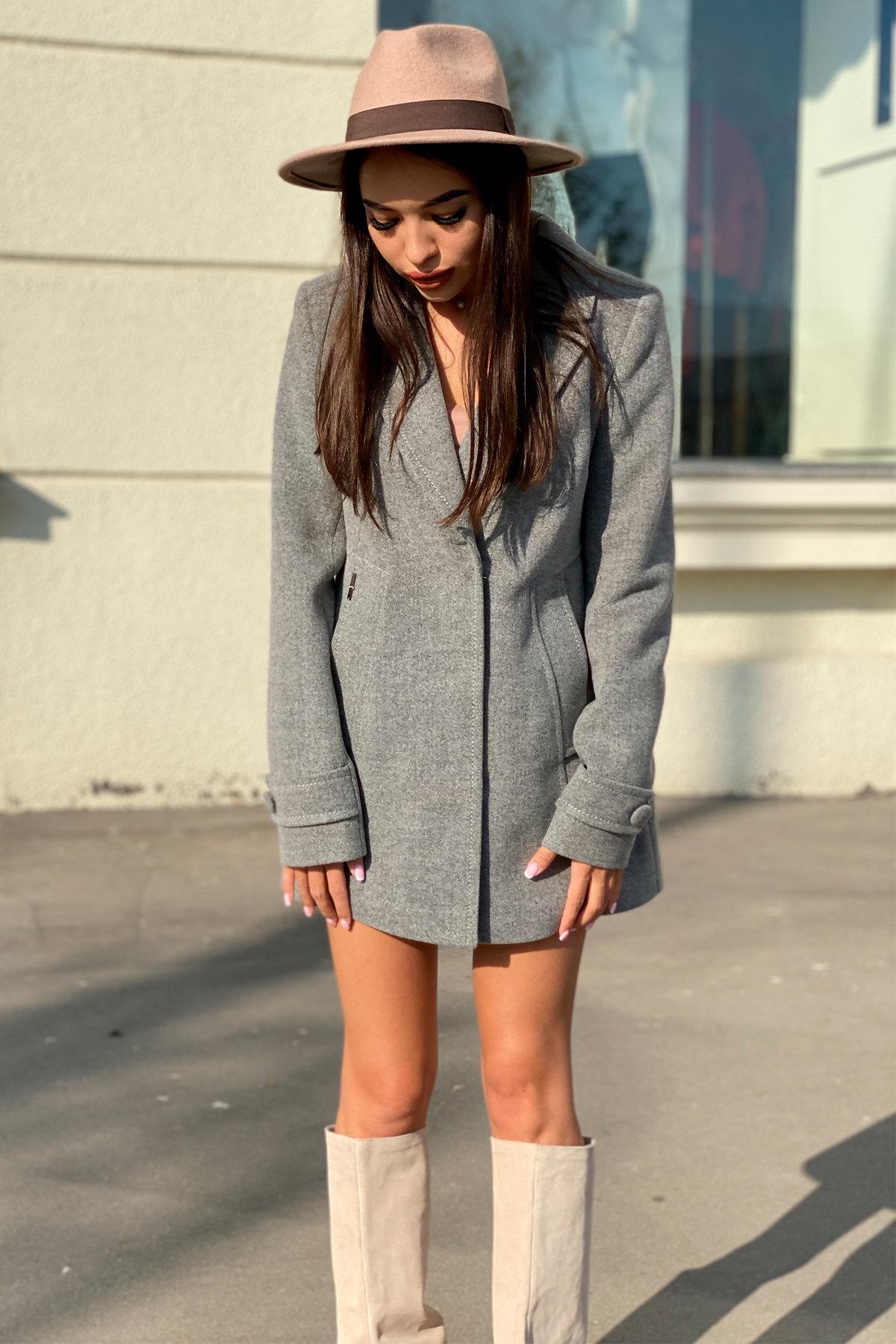 Пальто Смарта 6395 АРТ. 41427 Цвет: Серый 18 - фото 7, интернет магазин tm-modus.ru