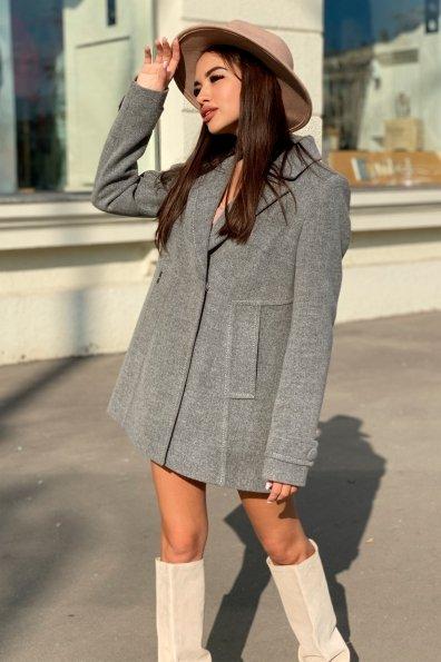 Пальто Смарта 6395 Цвет: Серый 18
