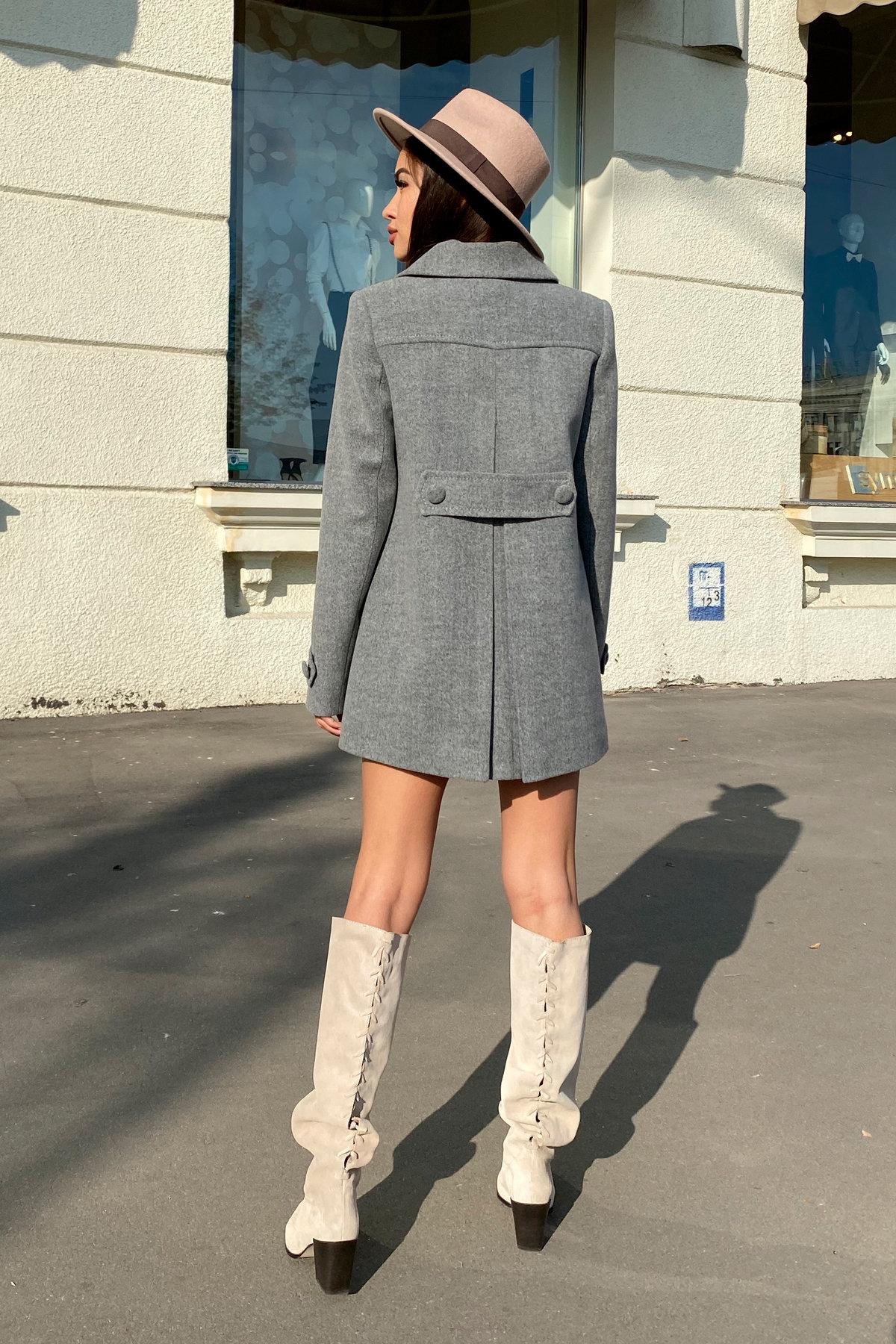 Пальто Смарта 6395 АРТ. 41427 Цвет: Серый 18 - фото 9, интернет магазин tm-modus.ru