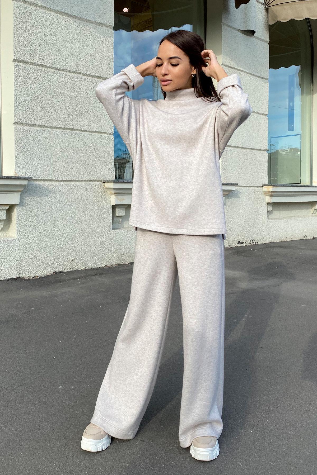 Лав Ю костюм из ангоры 9806 АРТ. 46093 Цвет: Бежевый - фото 3, интернет магазин tm-modus.ru