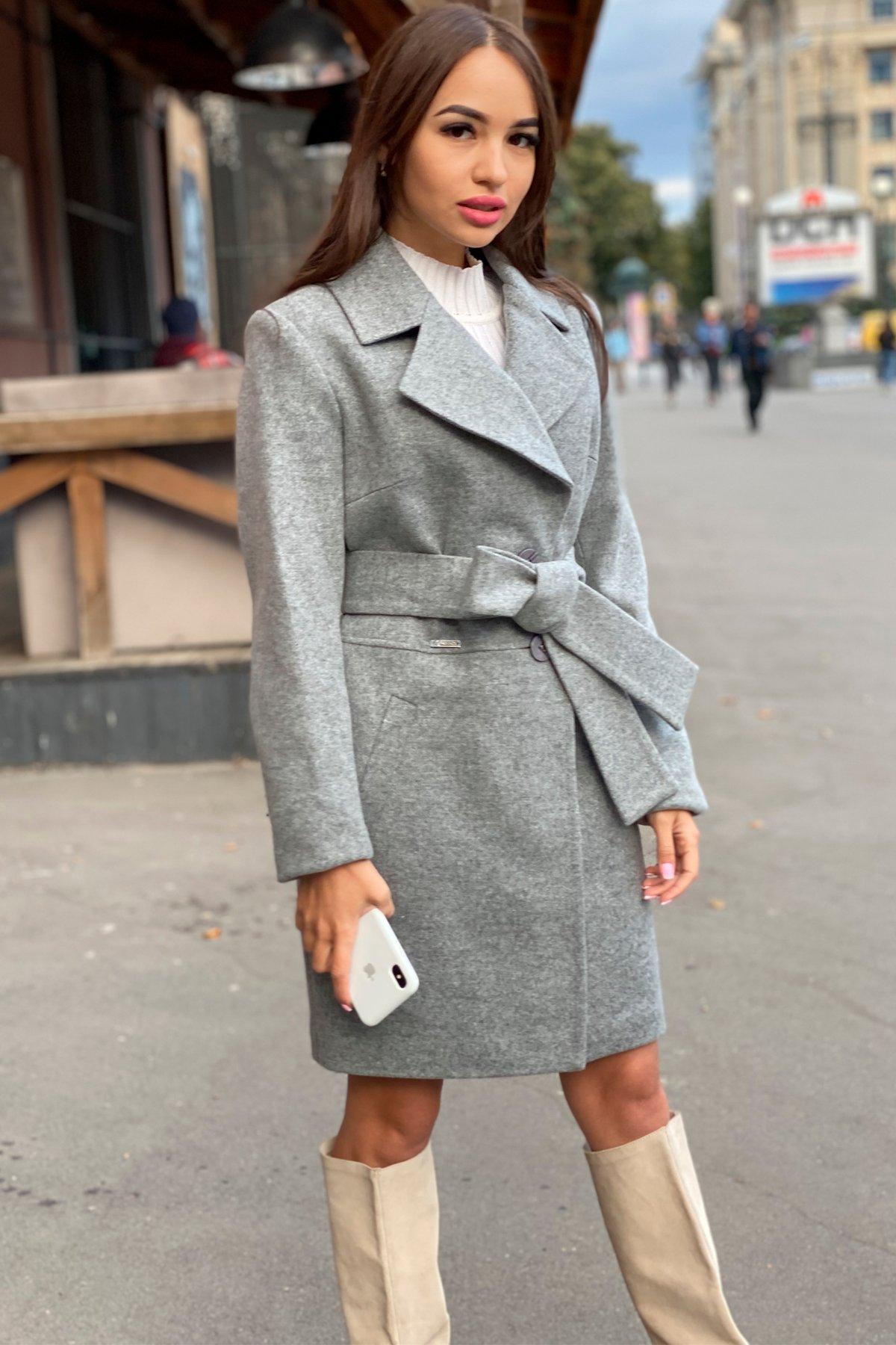 Пальто Габриэлла 7823 АРТ. 43703 Цвет: Серый 1 - фото 8, интернет магазин tm-modus.ru