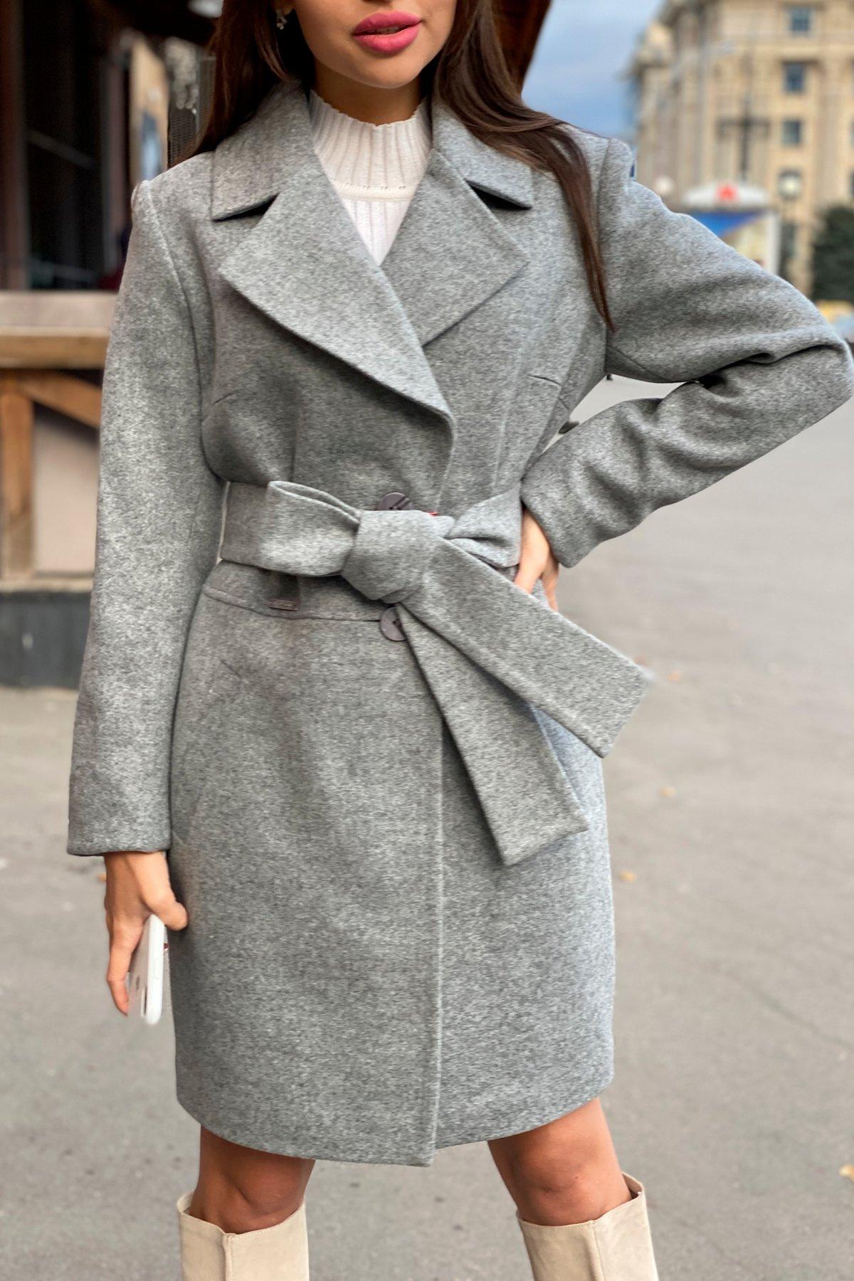 Пальто Габриэлла 7823 АРТ. 43703 Цвет: Серый 1 - фото 10, интернет магазин tm-modus.ru