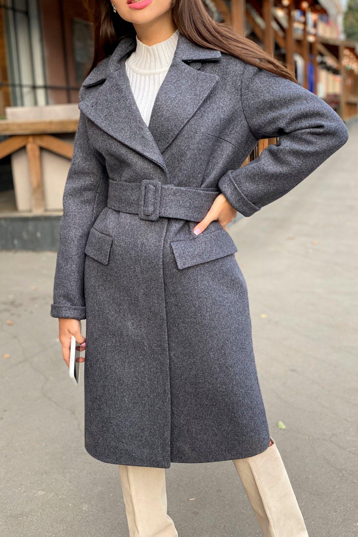 Зимнее пальто с отложным воротником Моле 8085 АРТ. 44036 Цвет: Т.синий 543 - фото 10, интернет магазин tm-modus.ru
