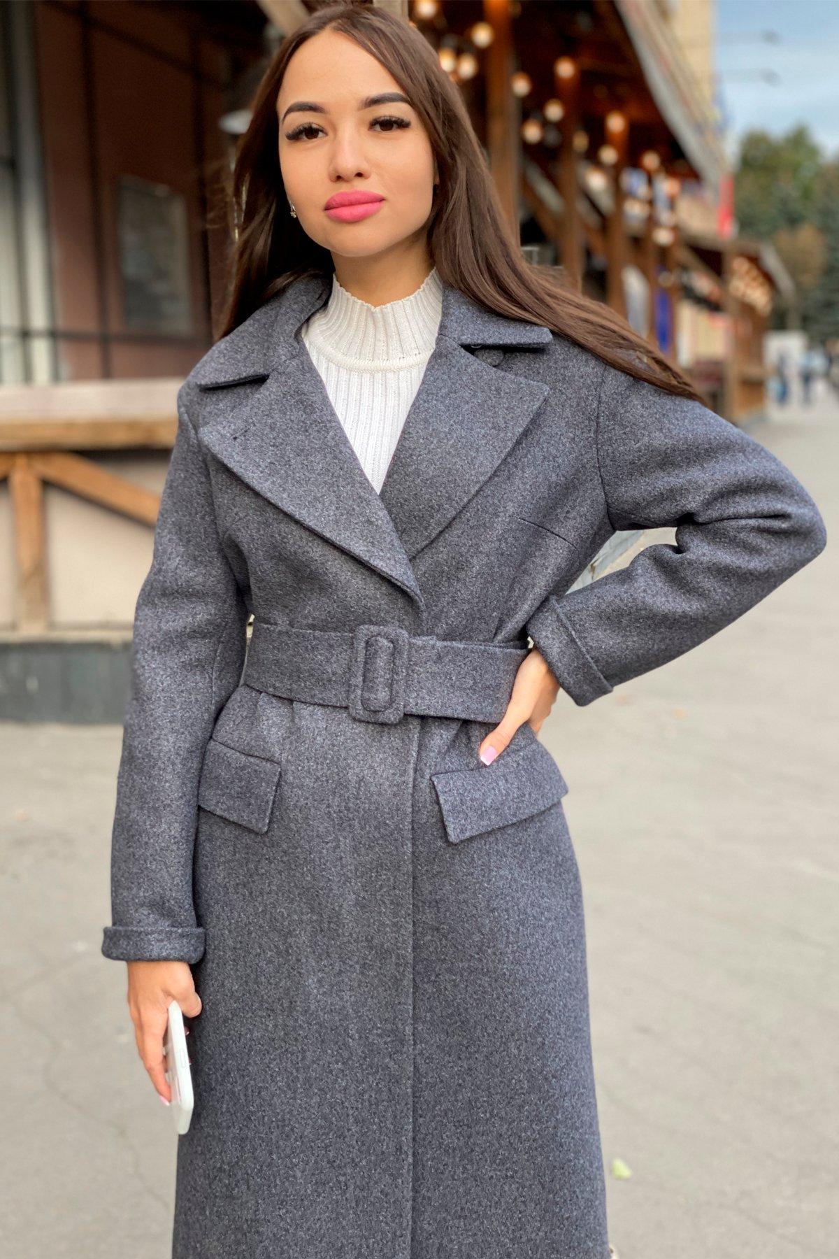 Зимнее пальто с отложным воротником Моле 8085 АРТ. 44036 Цвет: Т.синий 543 - фото 12, интернет магазин tm-modus.ru