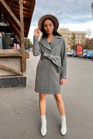 Пальто Месси 6259 Цвет: Серый 18