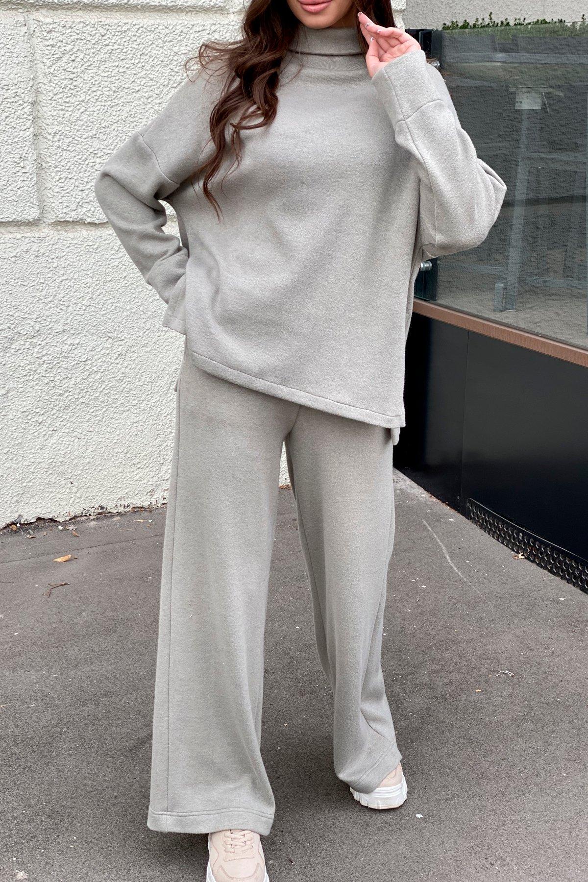 Лав Ю трикотаж ангора прогулочный костюм 9806