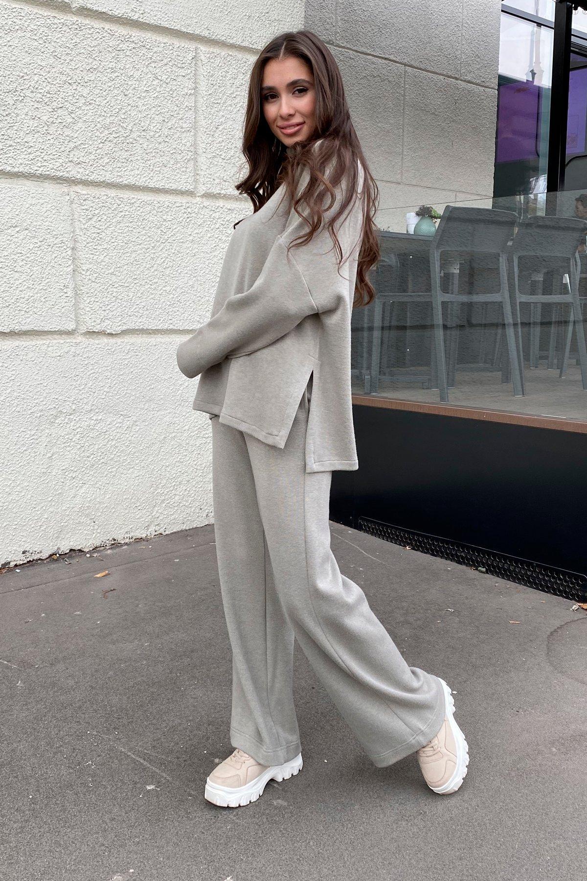 Лав Ю трикотаж ангора прогулочный костюм 9806 АРТ. 46182 Цвет: Олива - фото 7, интернет магазин tm-modus.ru