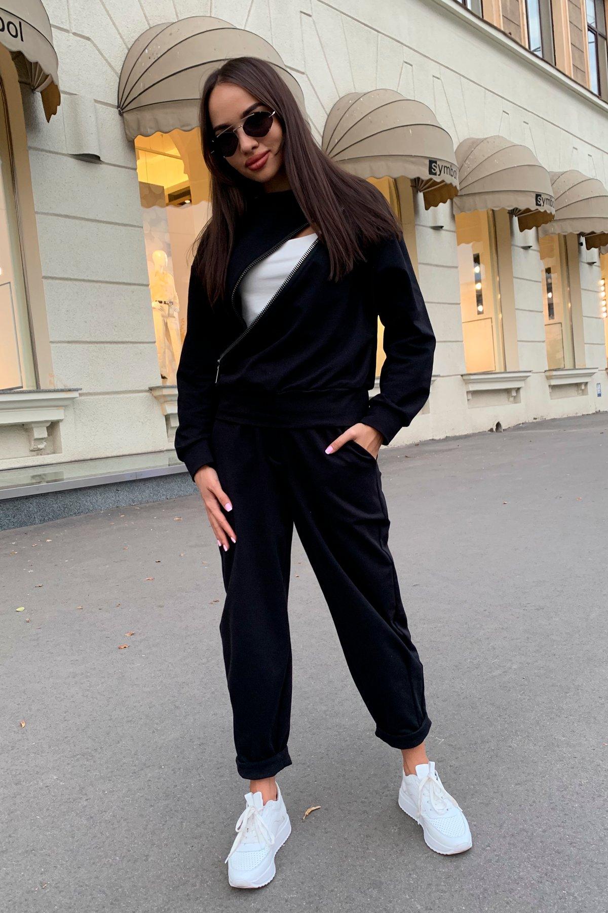 Дизель трикотаж 3х нитка костюм 9714 АРТ. 46019 Цвет: Черный - фото 5, интернет магазин tm-modus.ru