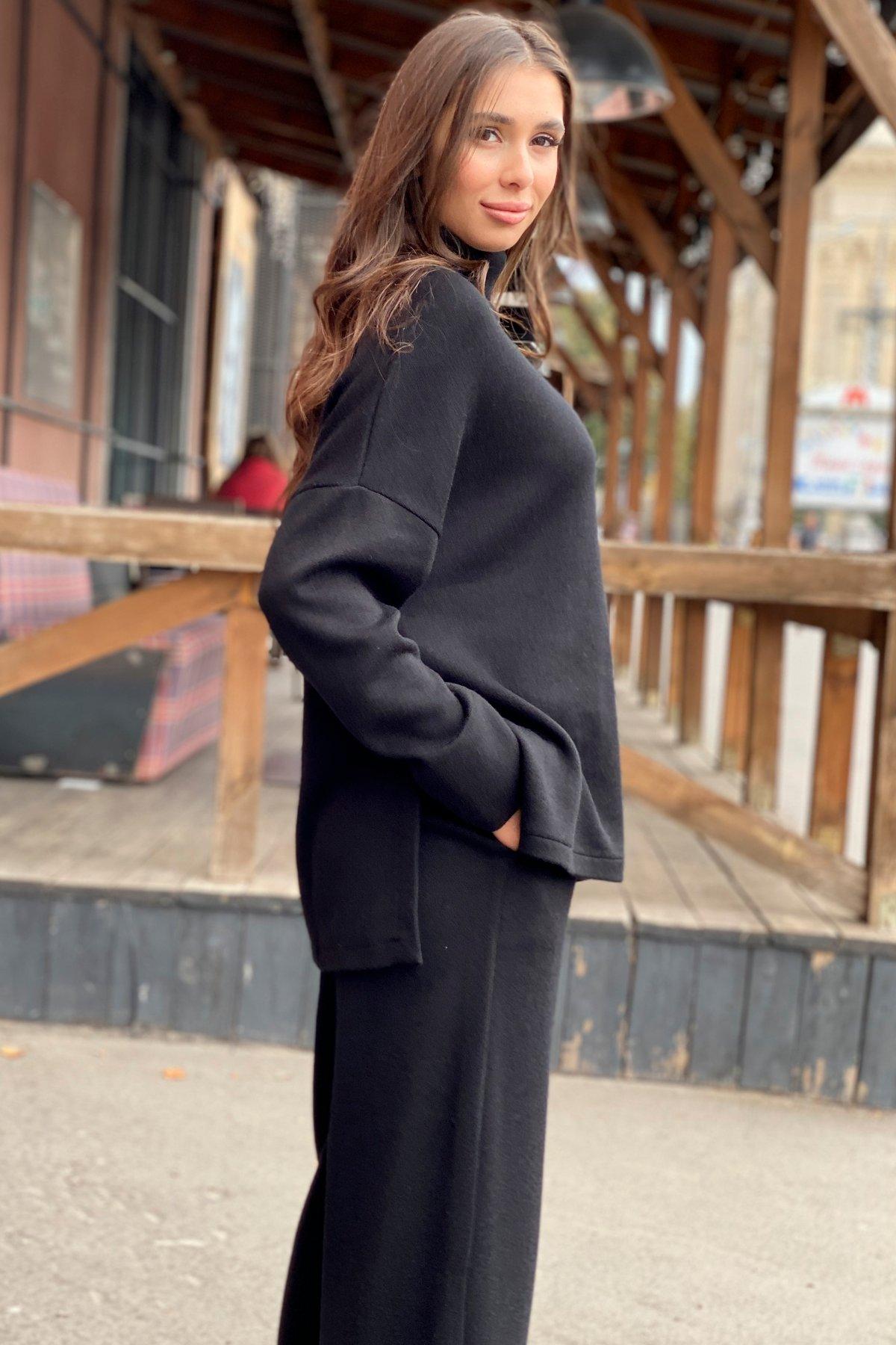 Лав Ю костюм из ангоры 9806 АРТ. 46181 Цвет: Черный - фото 2, интернет магазин tm-modus.ru