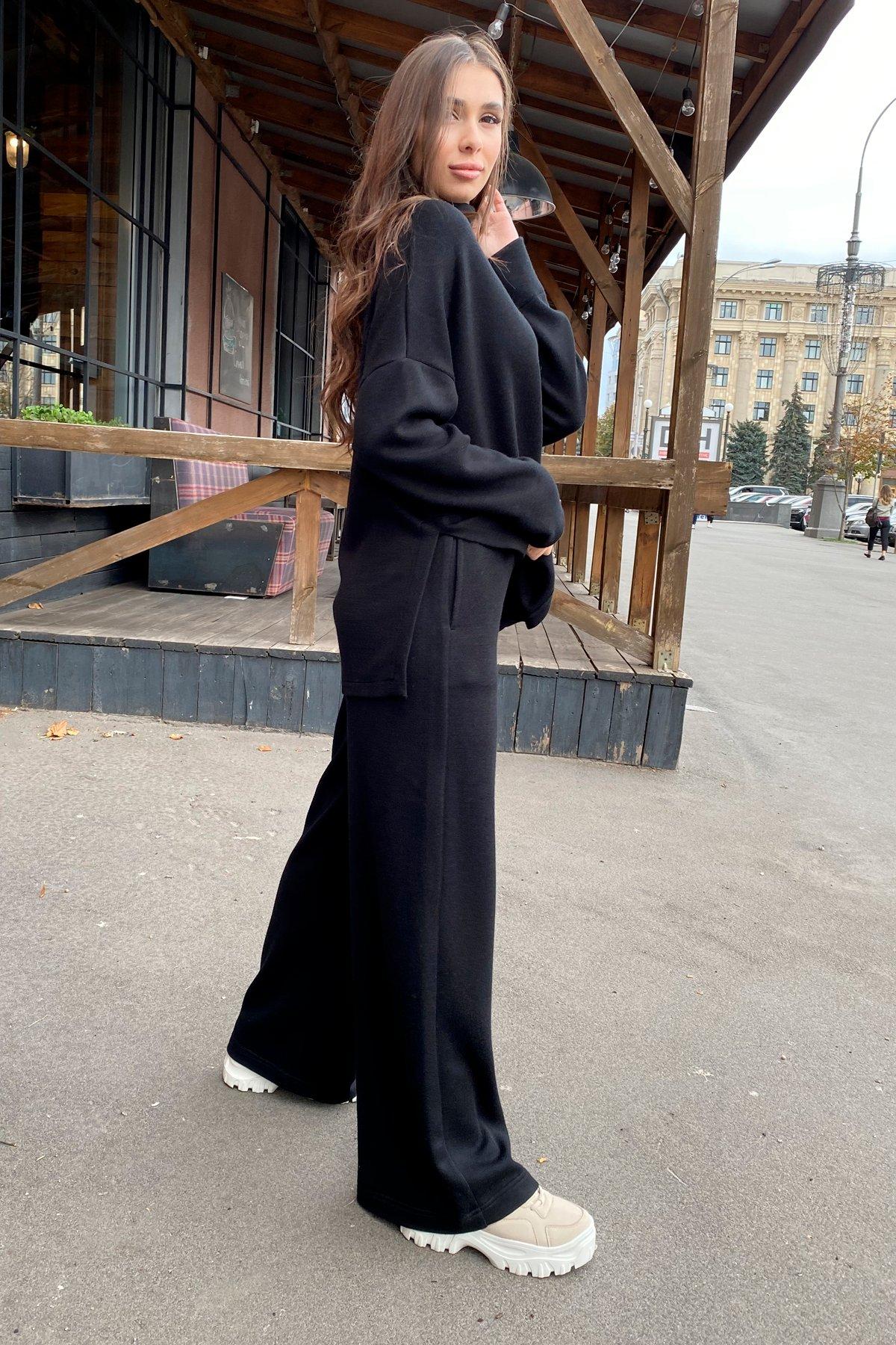 Лав Ю костюм из ангоры 9806 АРТ. 46181 Цвет: Черный - фото 7, интернет магазин tm-modus.ru