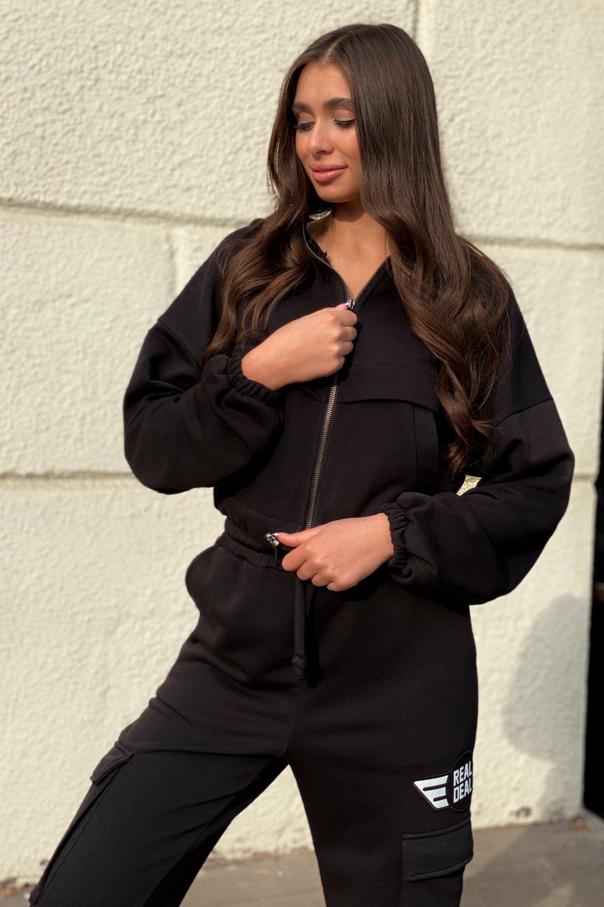 Кьюи  прогулочный костю 3х нитка 9833 АРТ. 46110 Цвет: Черный - фото 2, интернет магазин tm-modus.ru