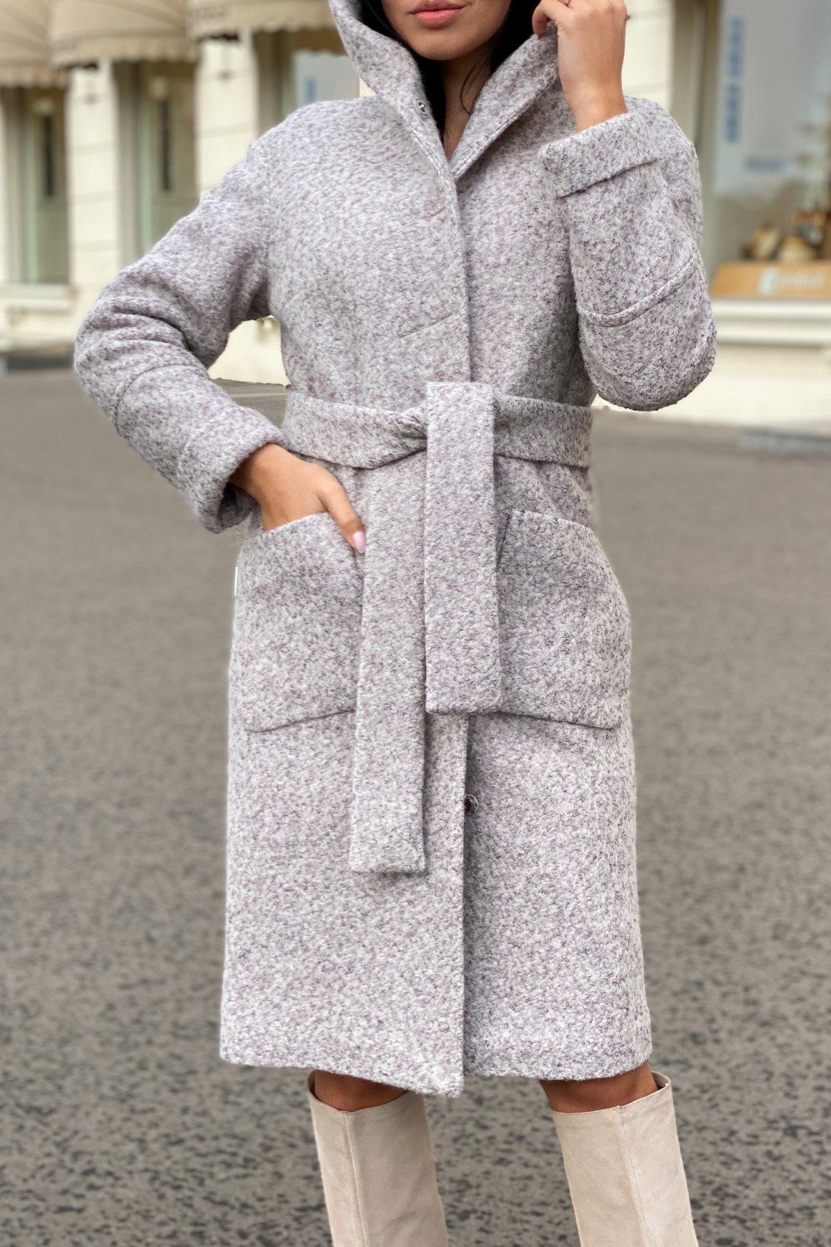 Пальто зима шерсть букле Анита 8320 АРТ. 44439 Цвет: Серый/бежевый 24 - фото 5, интернет магазин tm-modus.ru