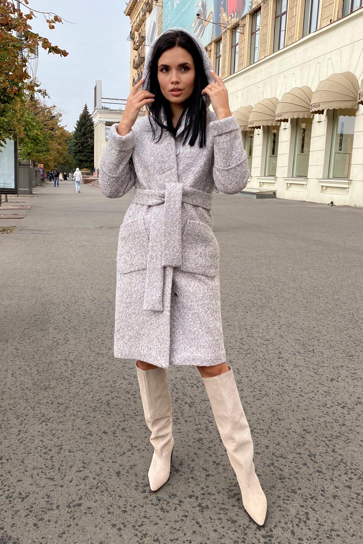 Пальто зима шерсть букле Анита 8320 АРТ. 44439 Цвет: Серый/бежевый 24 - фото 11, интернет магазин tm-modus.ru