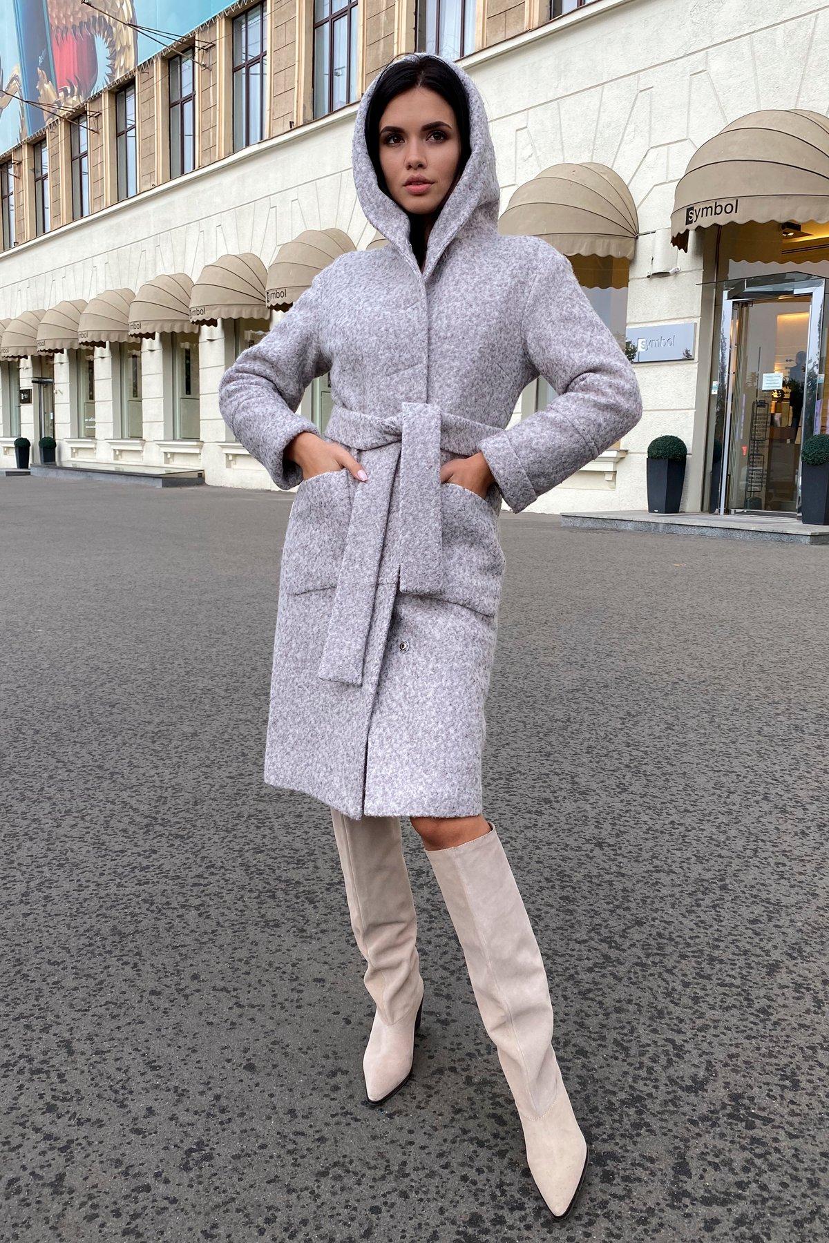 Пальто зима шерсть букле Анита 8320 АРТ. 44439 Цвет: Серый/бежевый 24 - фото 14, интернет магазин tm-modus.ru