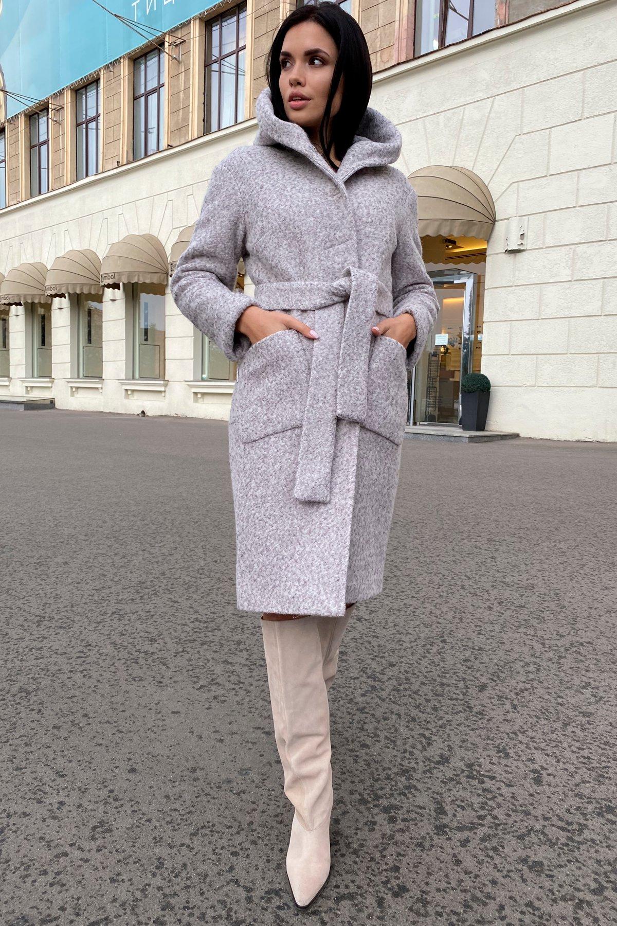 Пальто зима шерсть букле Анита 8320 АРТ. 44439 Цвет: Серый/бежевый 24 - фото 19, интернет магазин tm-modus.ru
