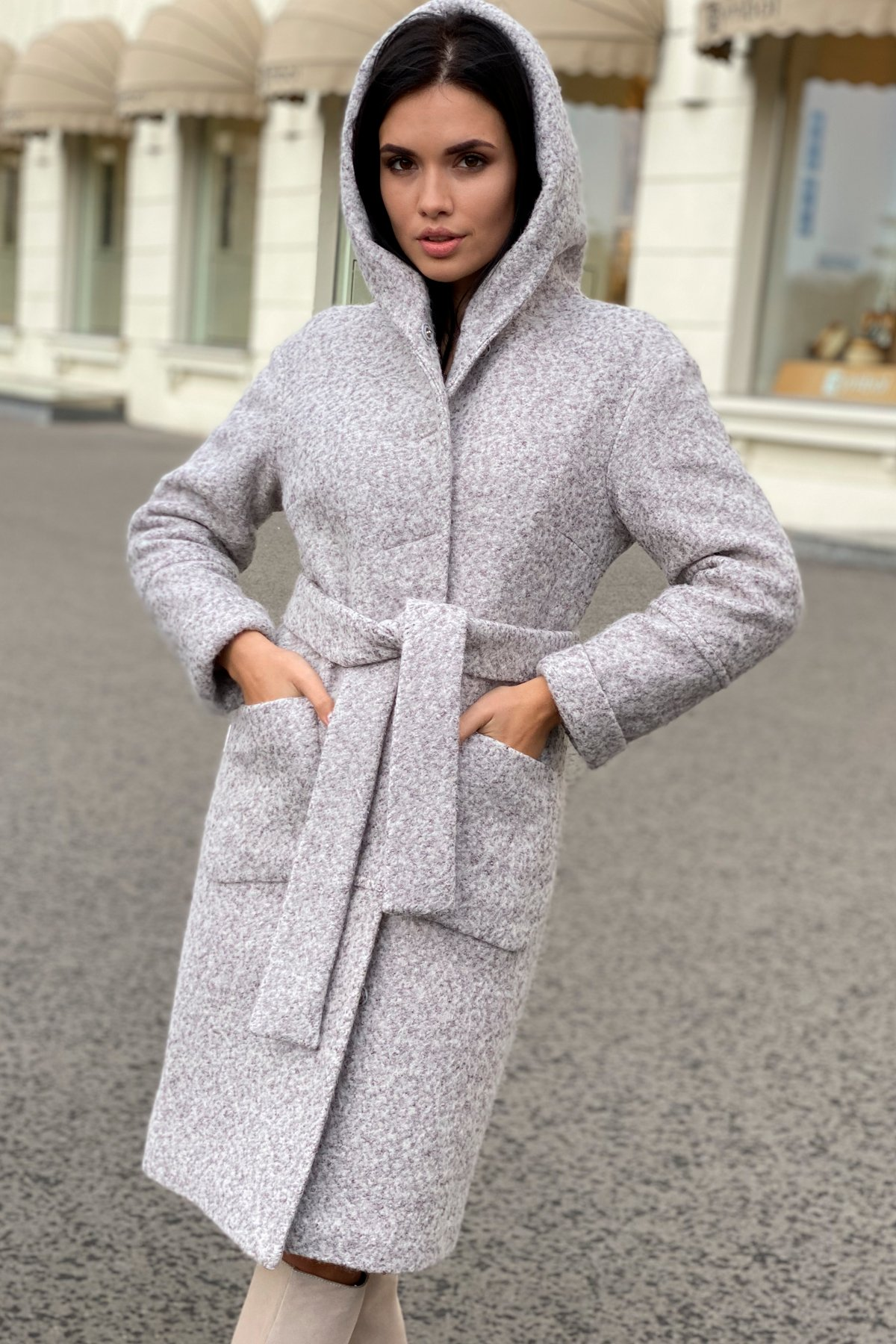 Купить женское зимнее пальто от Modus Пальто зима шерсть букле Анита 8320