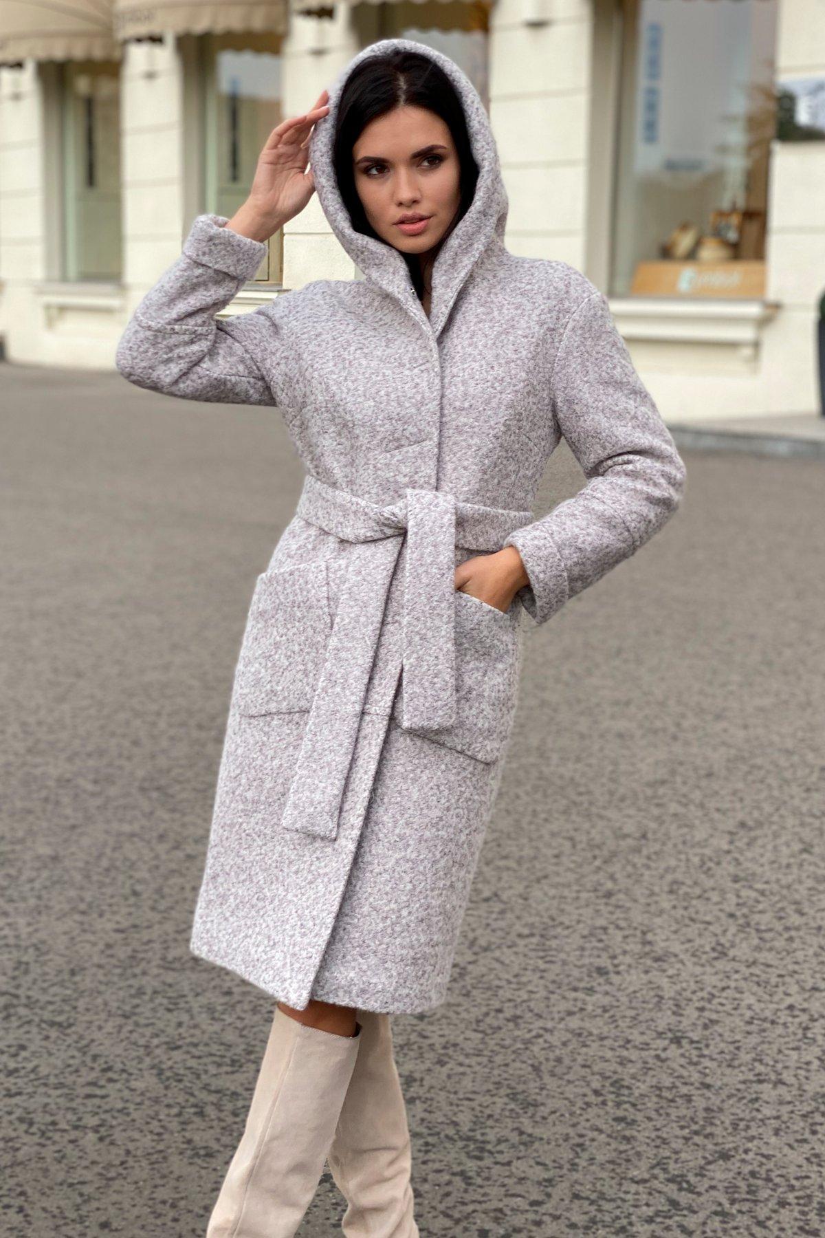 Пальто зима шерсть букле Анита 8320 АРТ. 44439 Цвет: Серый/бежевый 24 - фото 9, интернет магазин tm-modus.ru