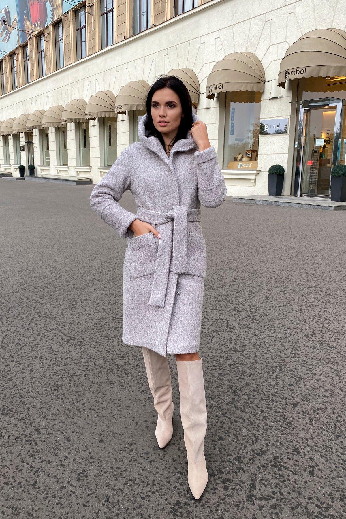 Пальто зима шерсть букле Анита 8320 АРТ. 44439 Цвет: Серый/бежевый 24 - фото 18, интернет магазин tm-modus.ru