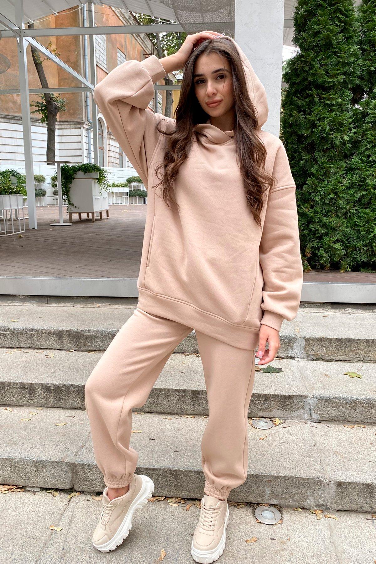 Женские костюмы оптом от производителя Modus  Марион Oversize трикотаж 3х нитка с начесом костюм 9651