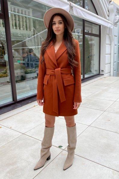 Купить Корси кашемир на трикотаже пальто 9880 оптом и в розницу
