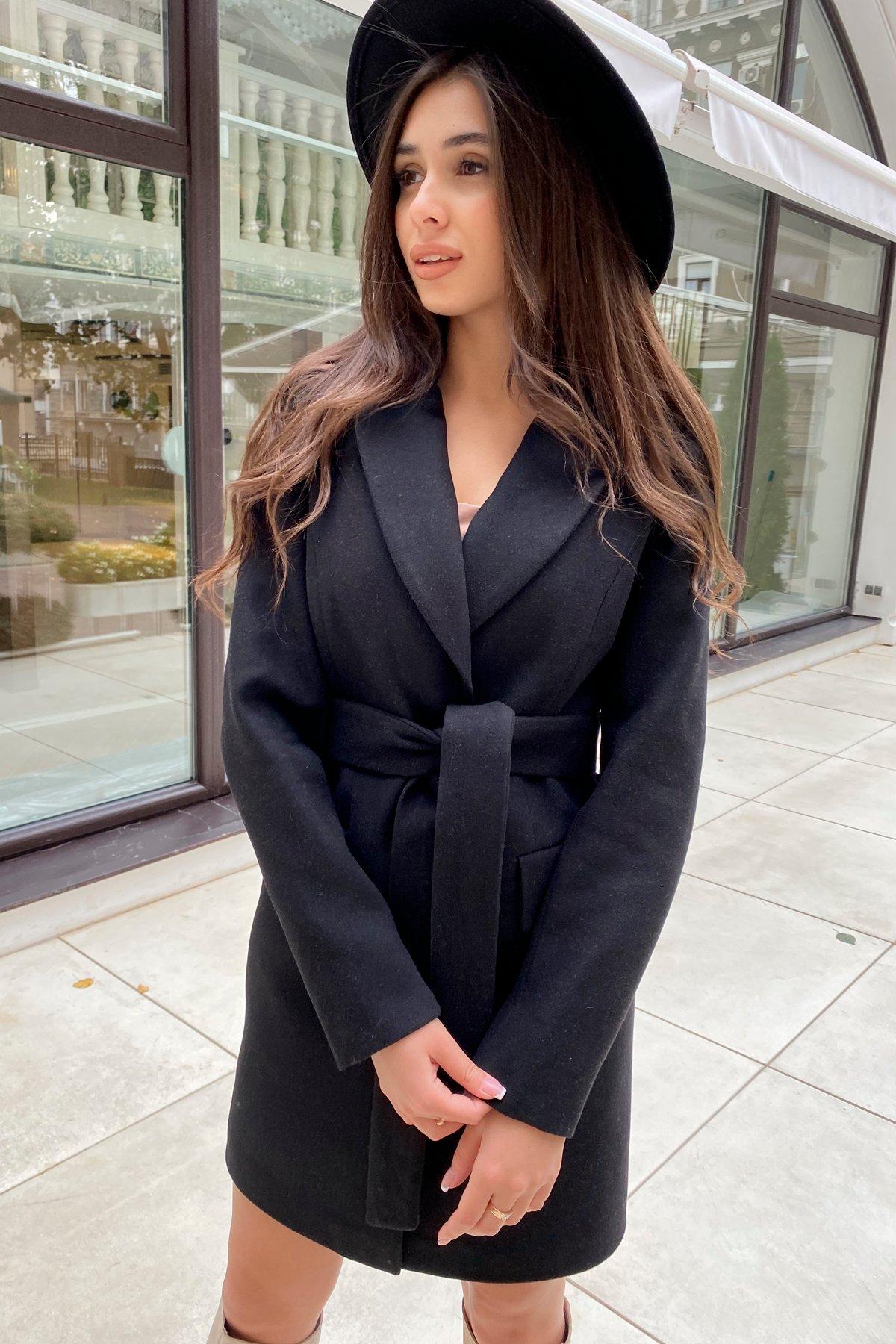 Корси пальто из кашемира 9794 АРТ. 46080 Цвет: Черный - фото 4, интернет магазин tm-modus.ru