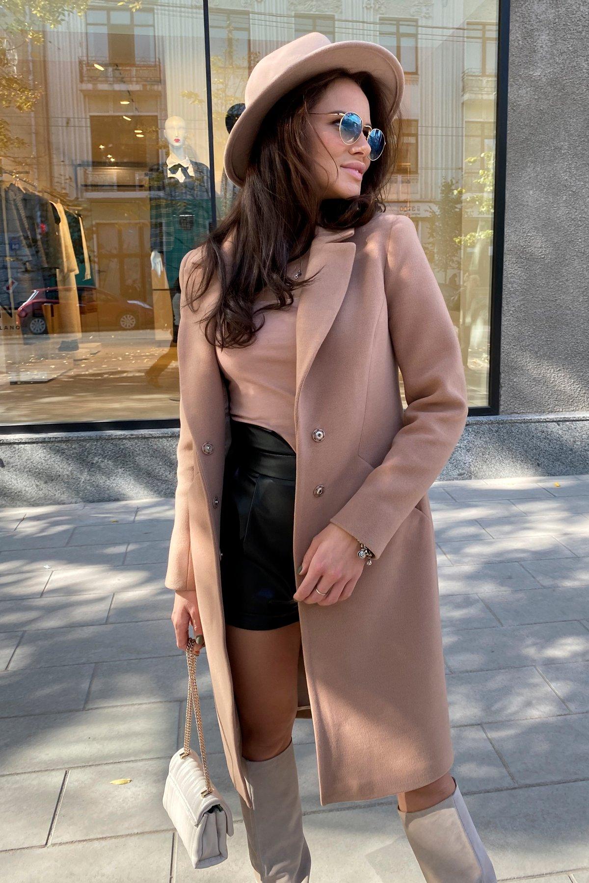 Пальто Мехико 9002 АРТ. 46204 Цвет: Кемел - фото 1, интернет магазин tm-modus.ru