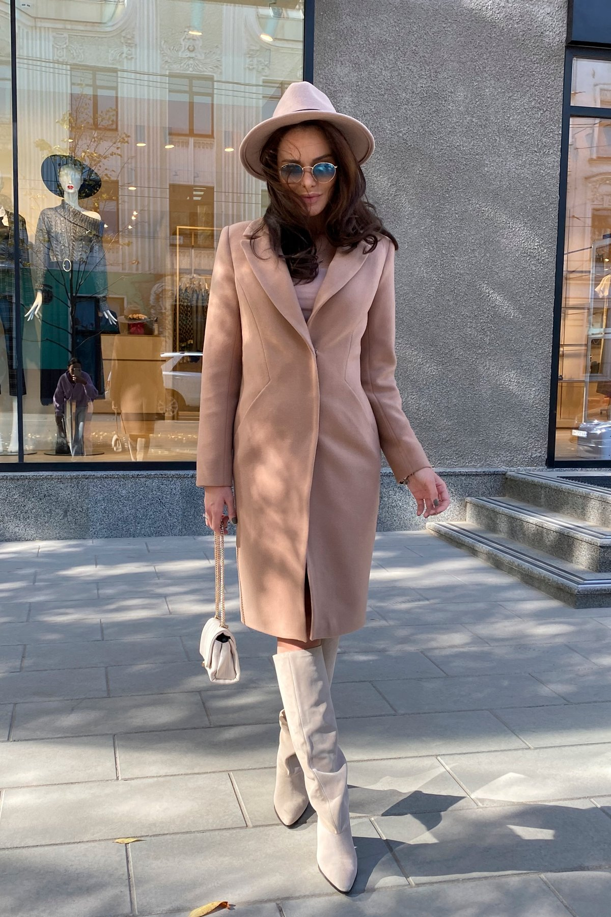 Пальто Мехико 9002 АРТ. 46204 Цвет: Кемел - фото 9, интернет магазин tm-modus.ru