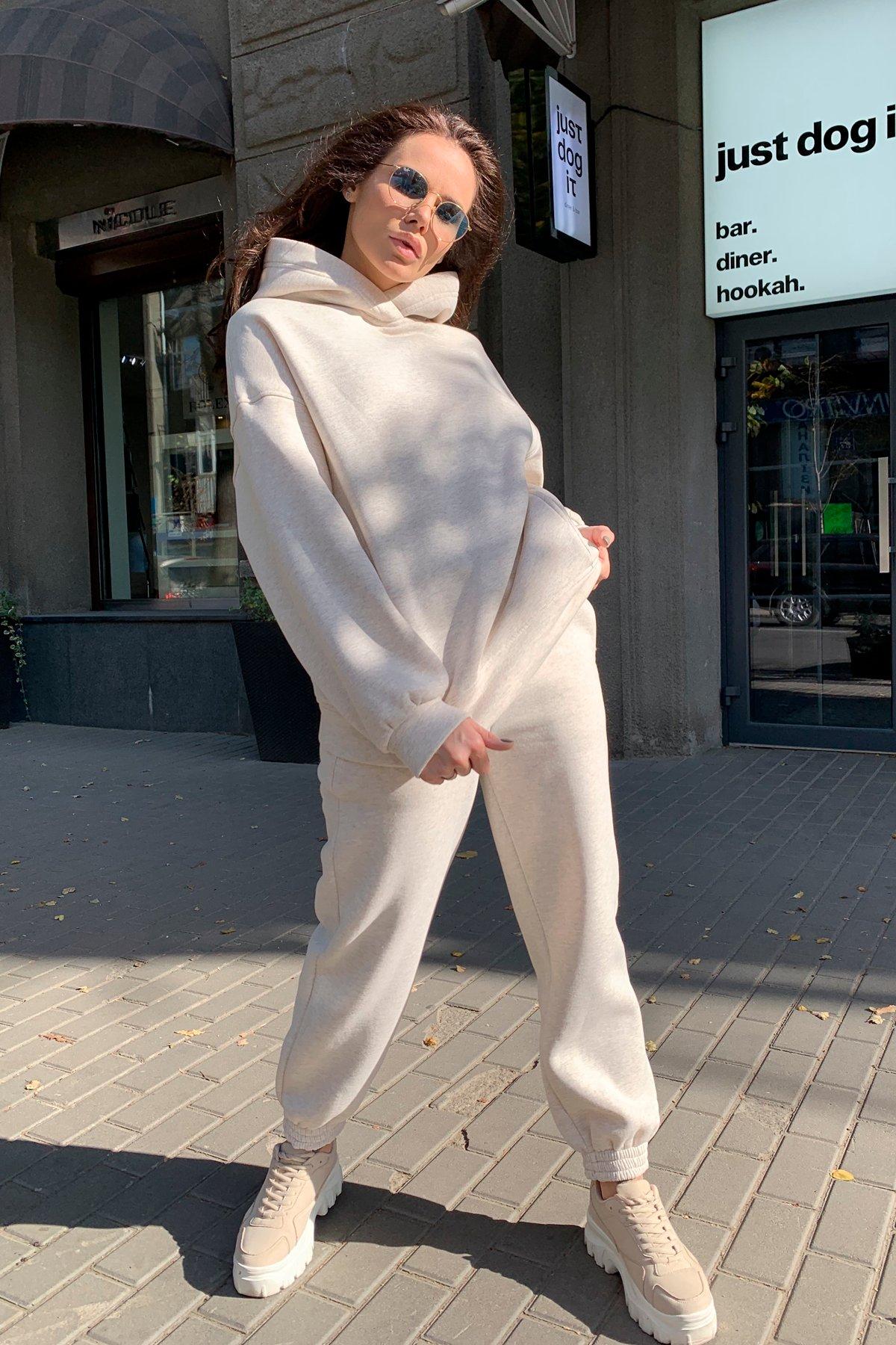 Марион Oversize трикотаж 3х нитка с начесом костюм 9651
