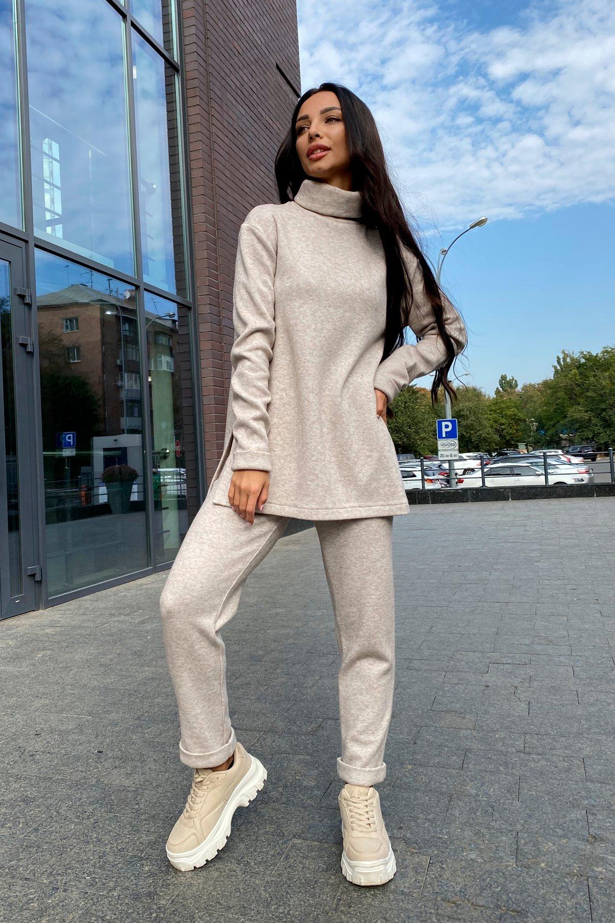 Люкс прогулочный костюм  из ангоры  9975 АРТ. 46263 Цвет: Бежевый 3 - фото 4, интернет магазин tm-modus.ru