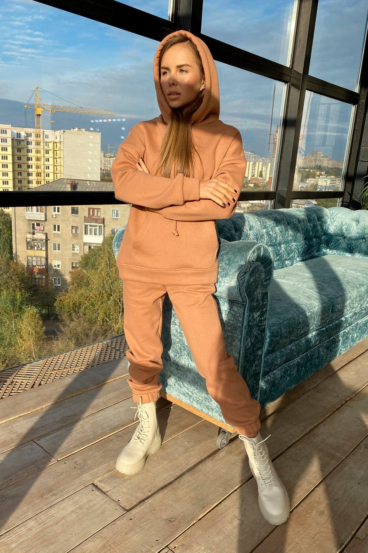 Кул трикотаж 3х нитка с начесом костюм 9981 АРТ. 46266 Цвет: Кемел - фото 3, интернет магазин tm-modus.ru