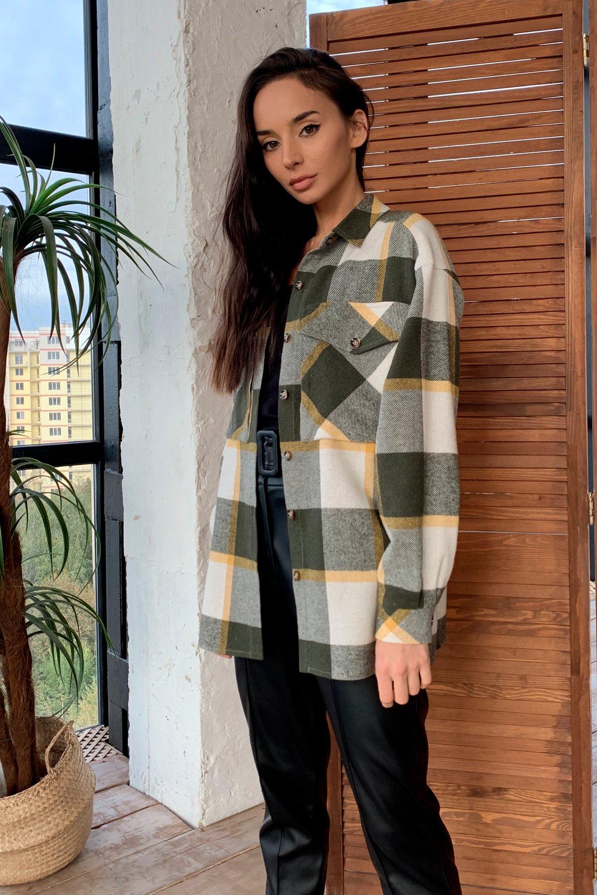 Модные женские рубашки ТМ Modus Гуд лак ткань рубашечная х/б клетка Турция 10009