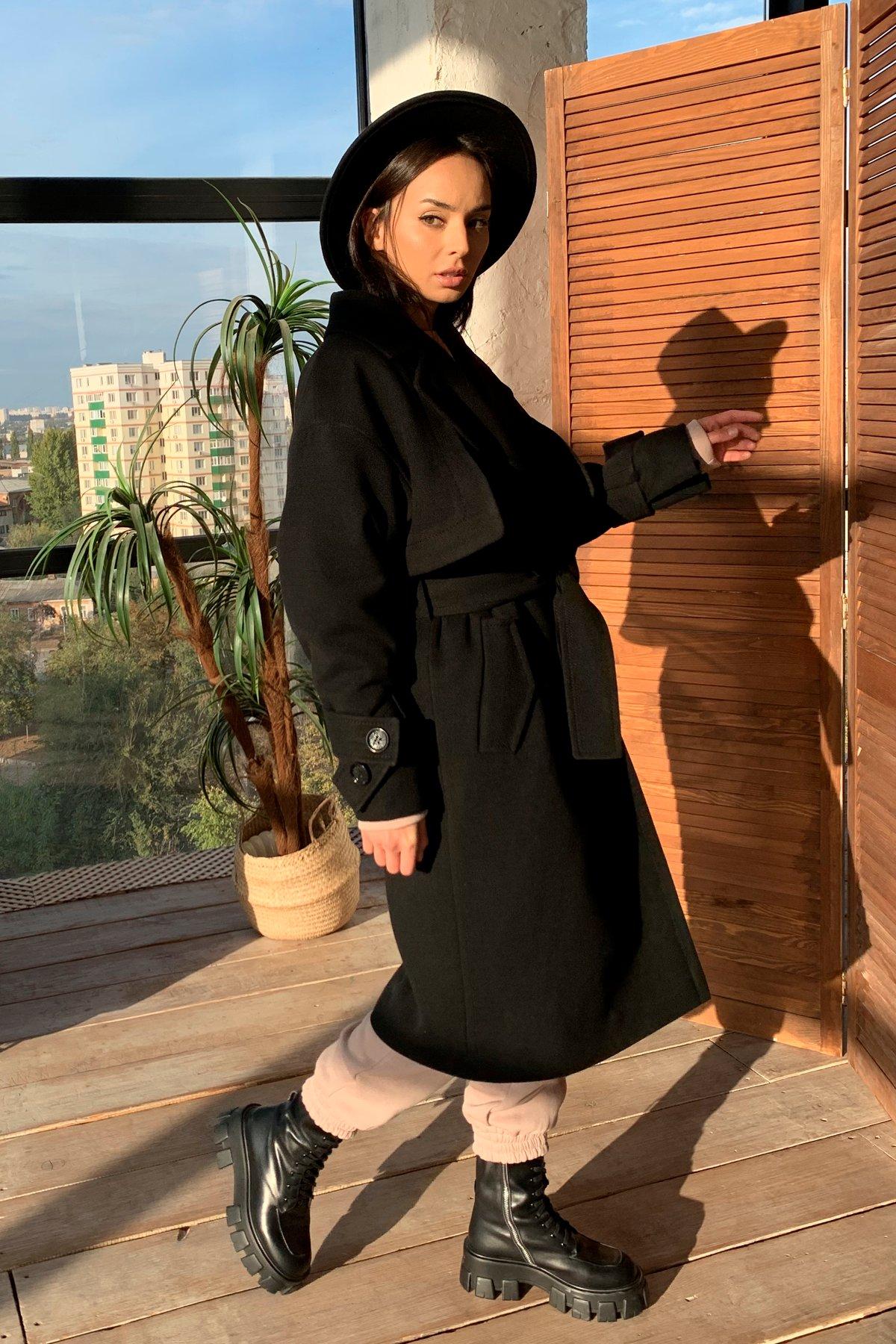 Твин макси кашемир китай пальто 9953 АРТ. 46242 Цвет: Черный - фото 11, интернет магазин tm-modus.ru