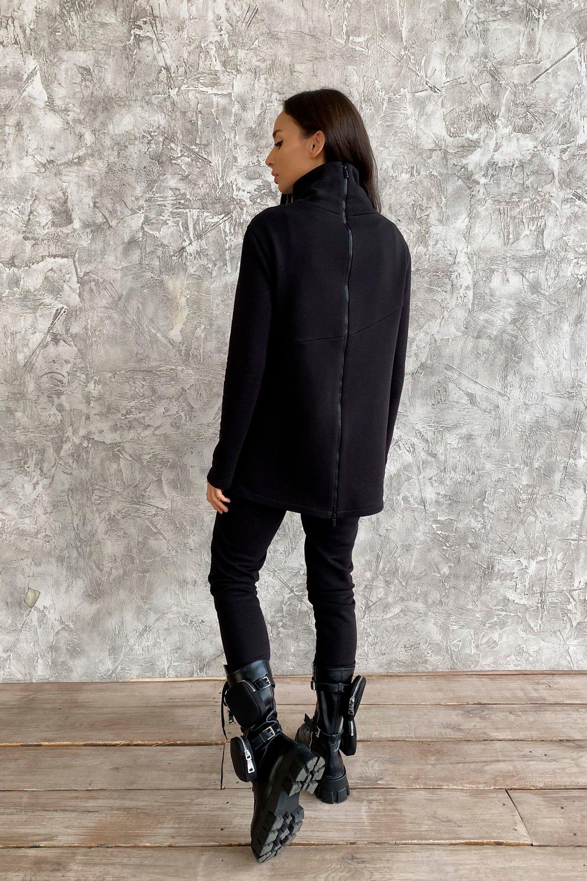 Деко трикотаж 3х нитка костюм 10005 АРТ. 46303 Цвет: Черный - фото 3, интернет магазин tm-modus.ru