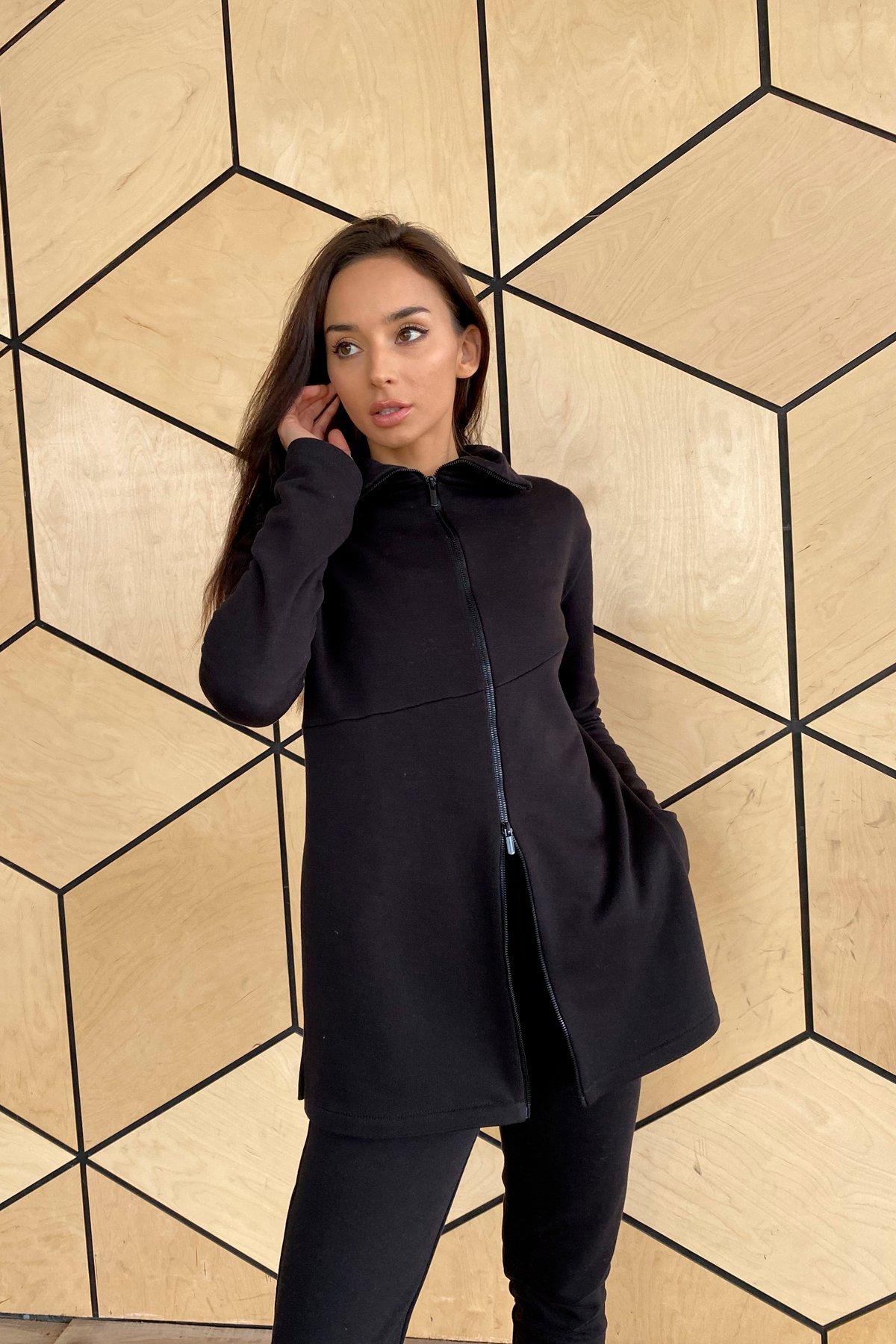 Деко трикотаж 3х нитка костюм 10005 АРТ. 46303 Цвет: Черный - фото 6, интернет магазин tm-modus.ru