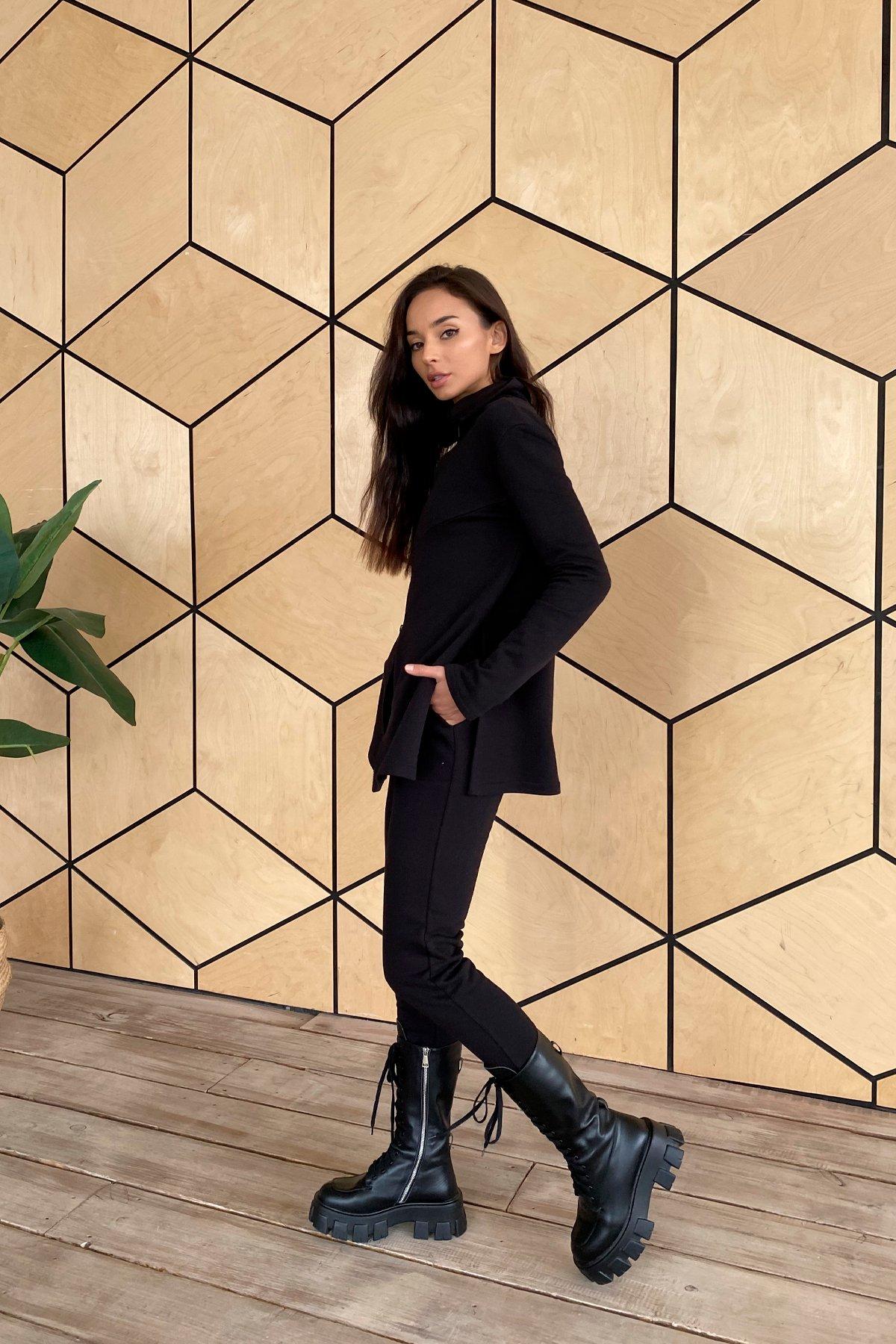 Деко трикотаж 3х нитка костюм 10005 АРТ. 46303 Цвет: Черный - фото 7, интернет магазин tm-modus.ru