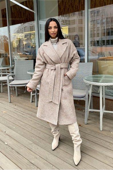 Купить Влада шерсть варенка зима Хомут пальто 10021 оптом и в розницу
