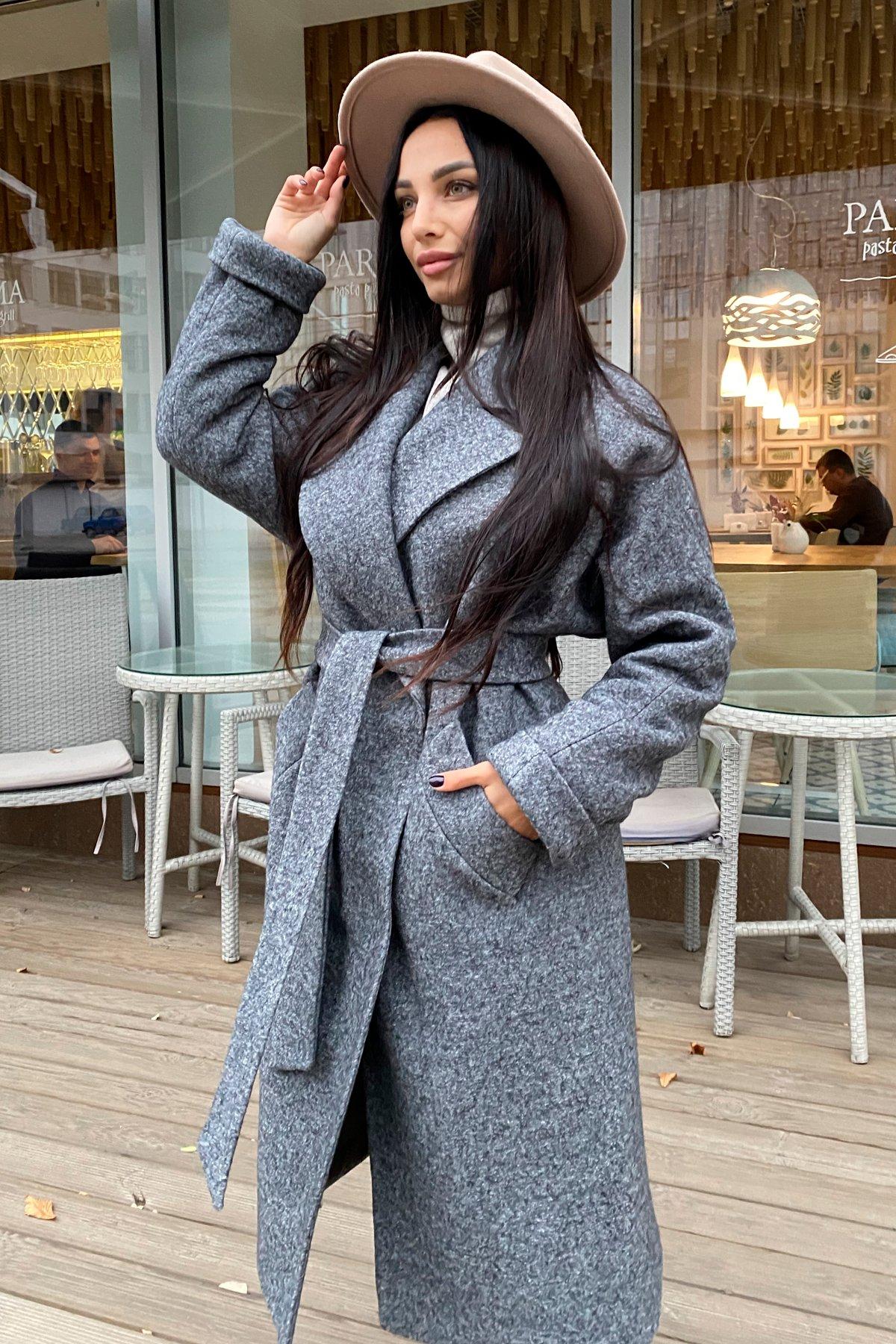 Купить пальто женское недорого от Modus Влада шерсть варенка зима Хомут пальто 10021