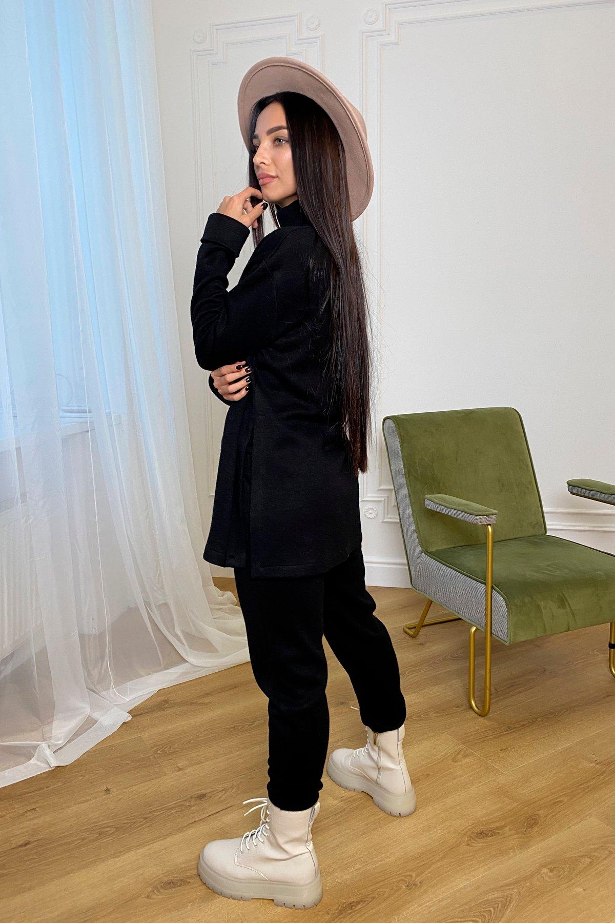 Люкс прогулочный костюм  из ангоры  9975 АРТ. 46312 Цвет: Черный - фото 6, интернет магазин tm-modus.ru