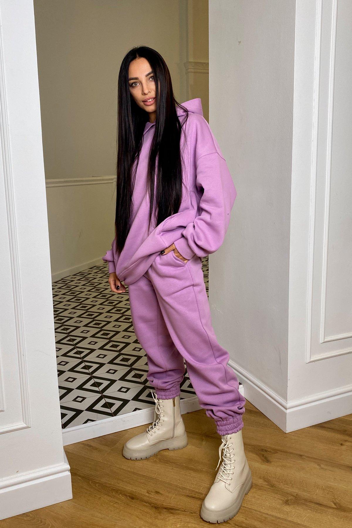 Марион костюм в  стиле Oversize  3х нитка 9651 АРТ. 46356 Цвет: Лаванда/1 - фото 2, интернет магазин tm-modus.ru
