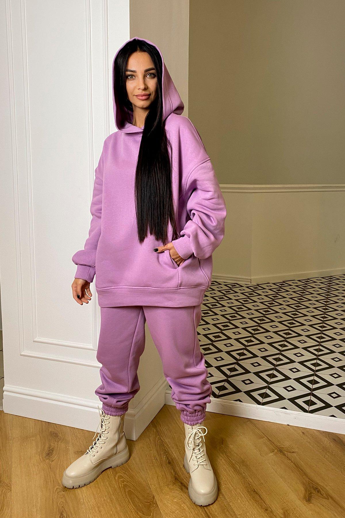 Марион костюм в  стиле Oversize  3х нитка 9651 АРТ. 46356 Цвет: Лаванда/1 - фото 5, интернет магазин tm-modus.ru