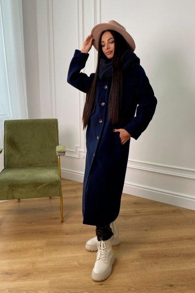 """Купить """"Ола """" зимнее  пальто из гладкого кашемира 9987 оптом и в розницу"""