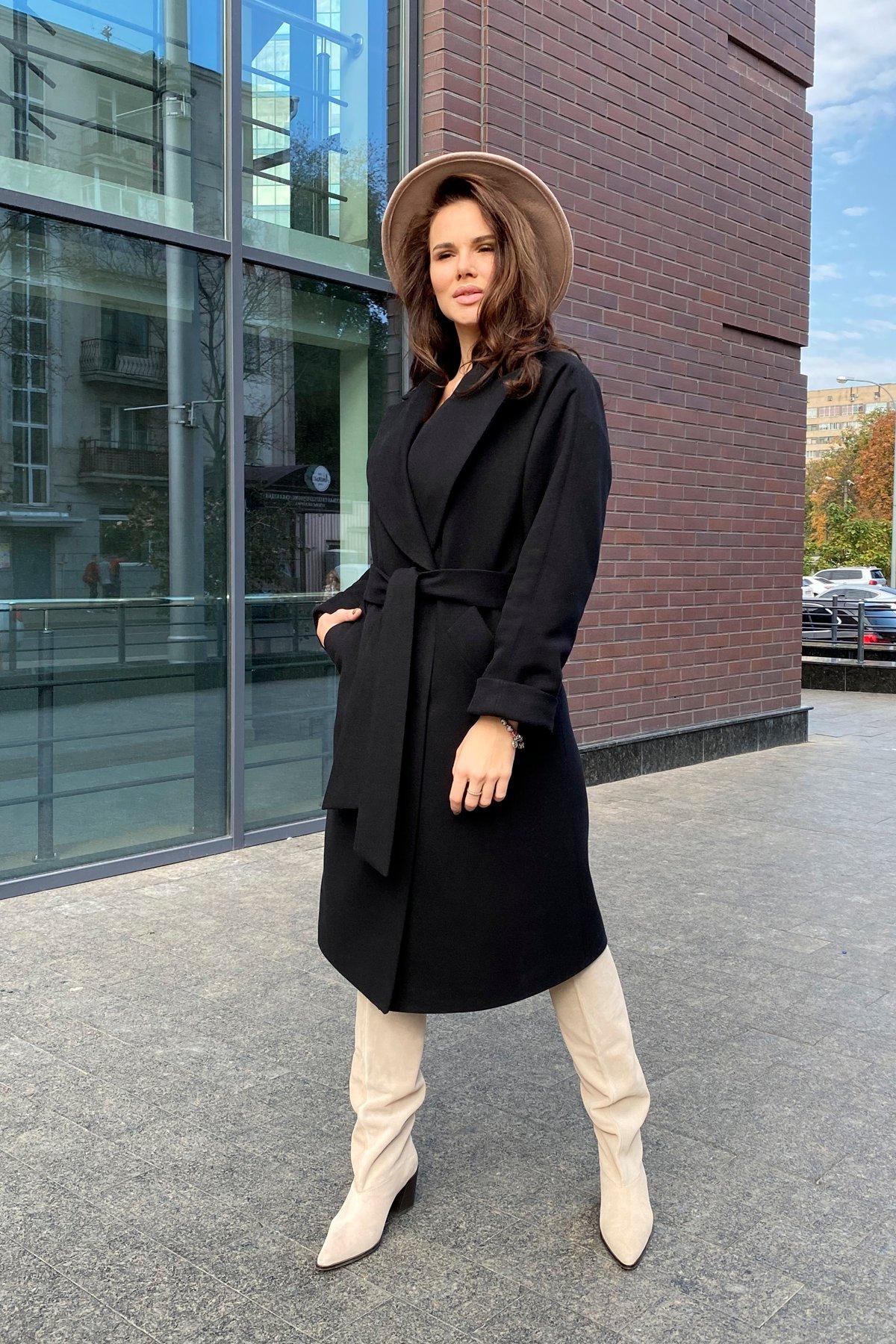 Влада памела пальто из кашемира 9962 АРТ. 46250 Цвет: Черный - фото 5, интернет магазин tm-modus.ru