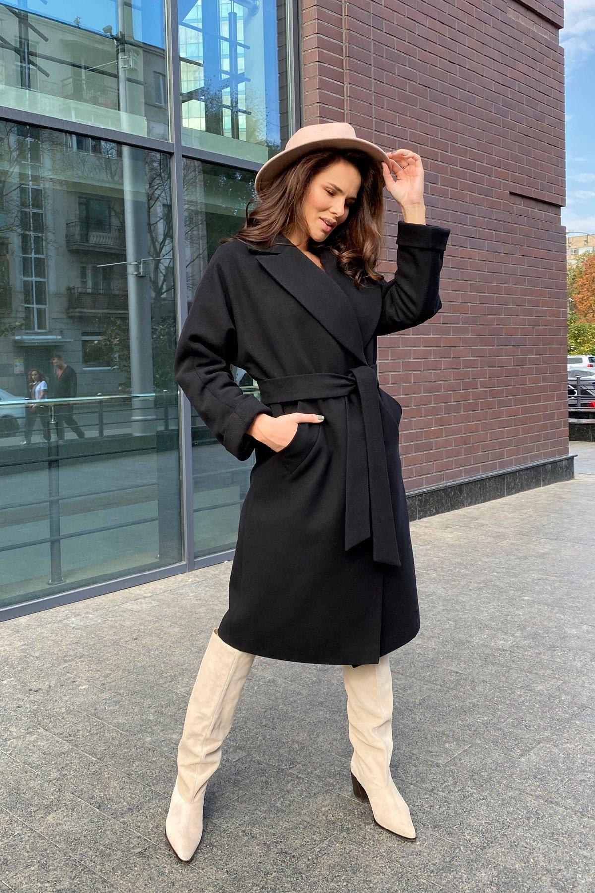 Влада памела пальто из кашемира 9962 АРТ. 46250 Цвет: Черный - фото 6, интернет магазин tm-modus.ru